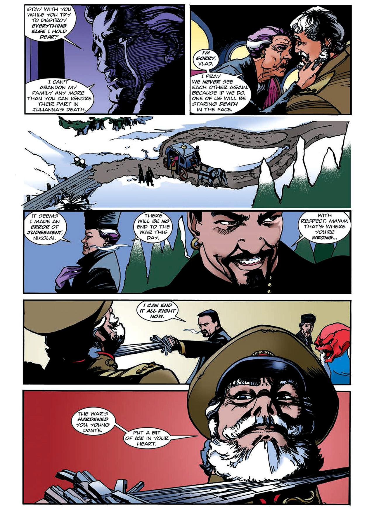 Read online Nikolai Dante comic -  Issue # TPB 4 - 124