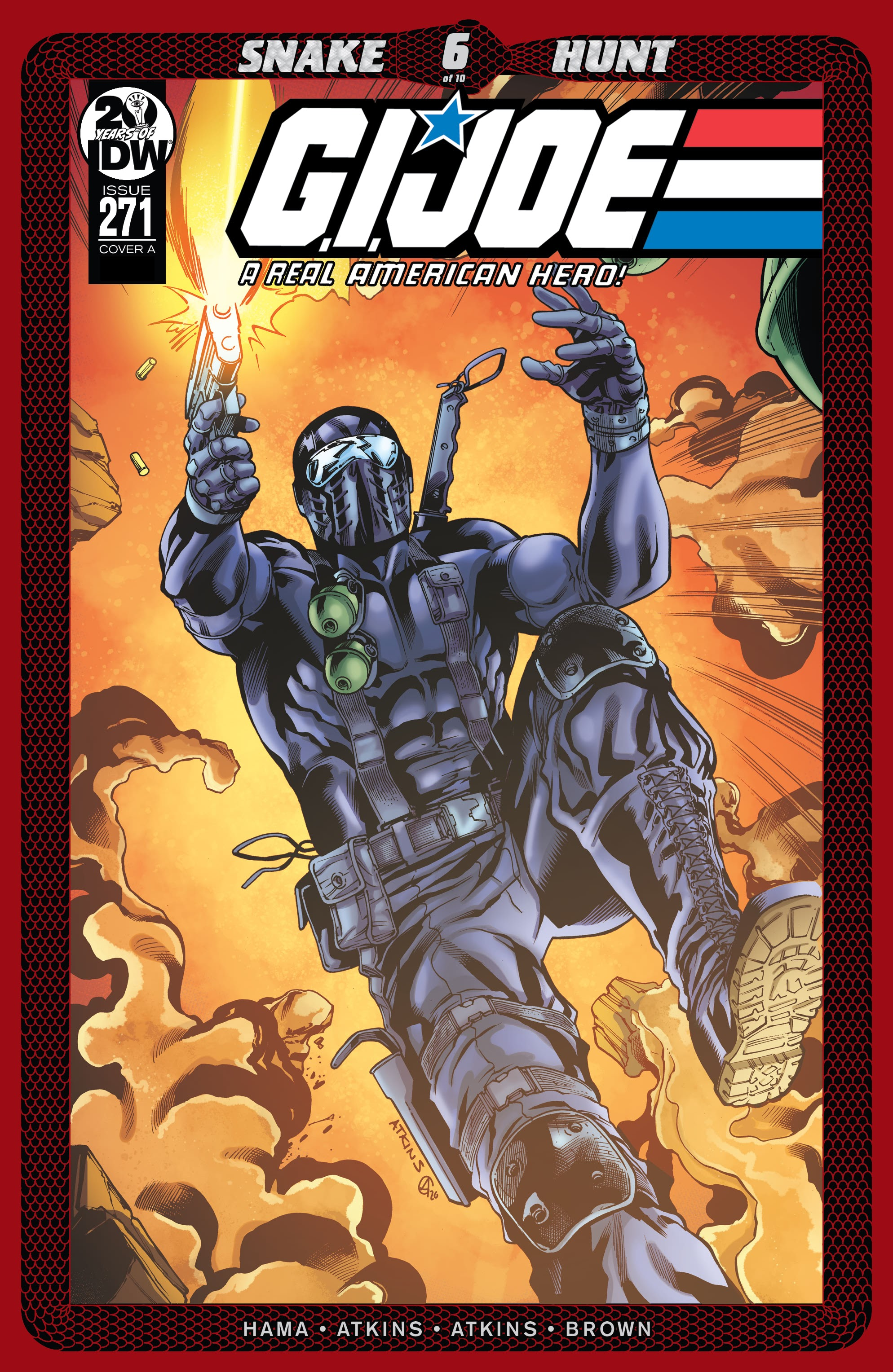G.I. Joe: A Real American Hero issue 271 - Page 1