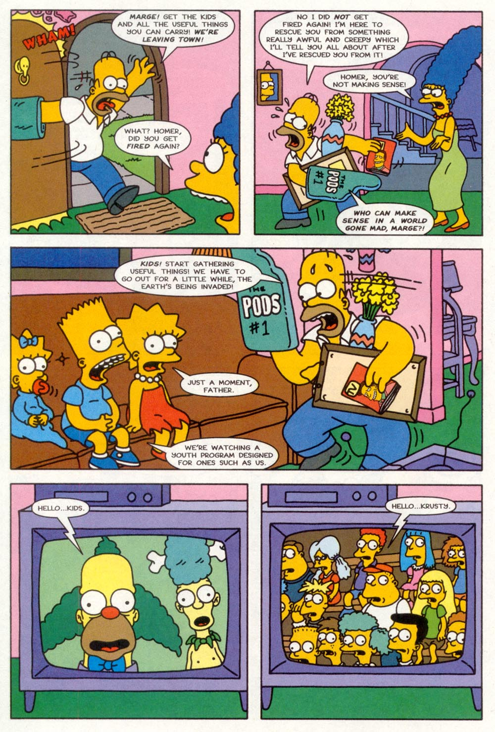 Read online Treehouse of Horror comic -  Issue #3 - 13