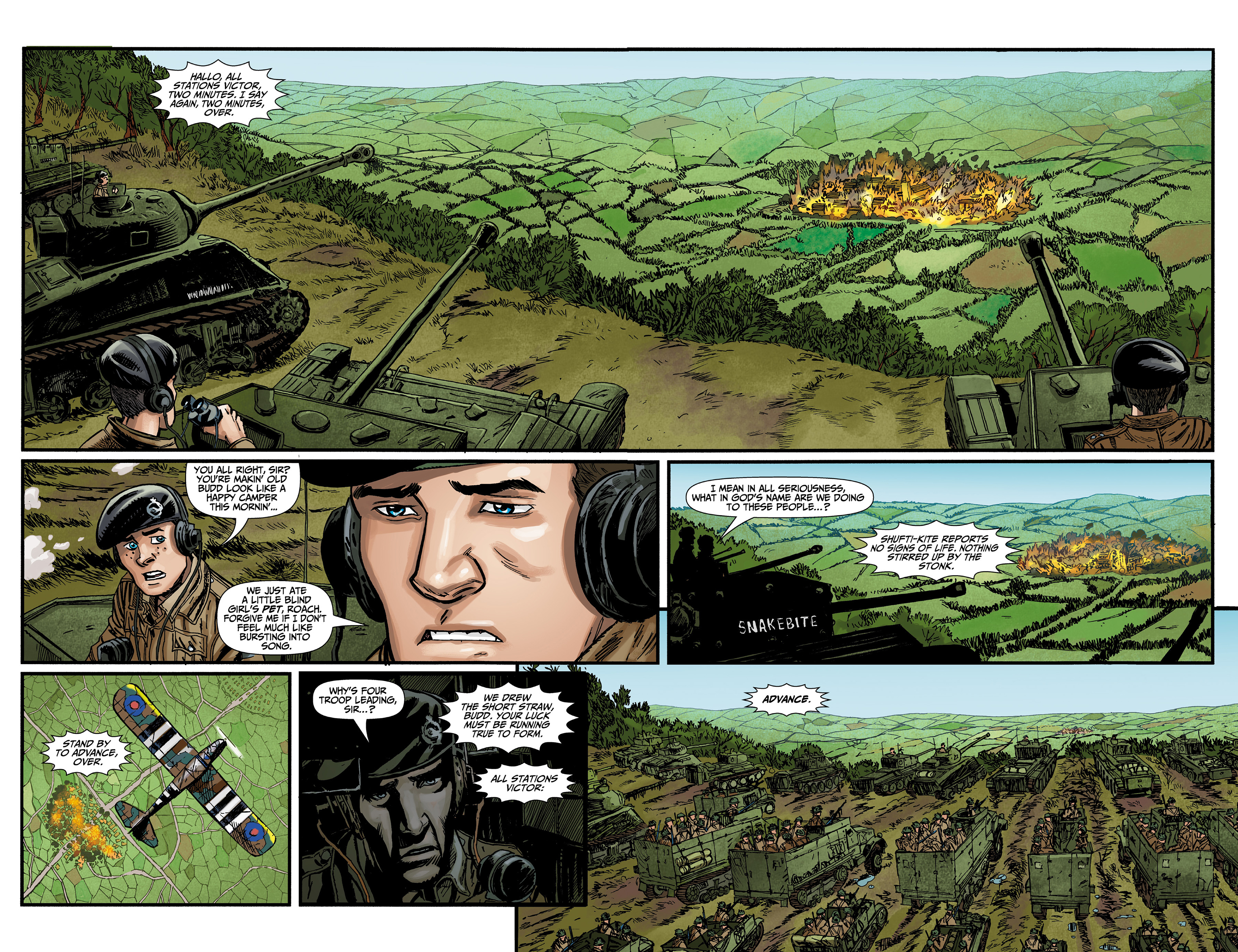Read online World of Tanks comic -  Issue #3 - 19