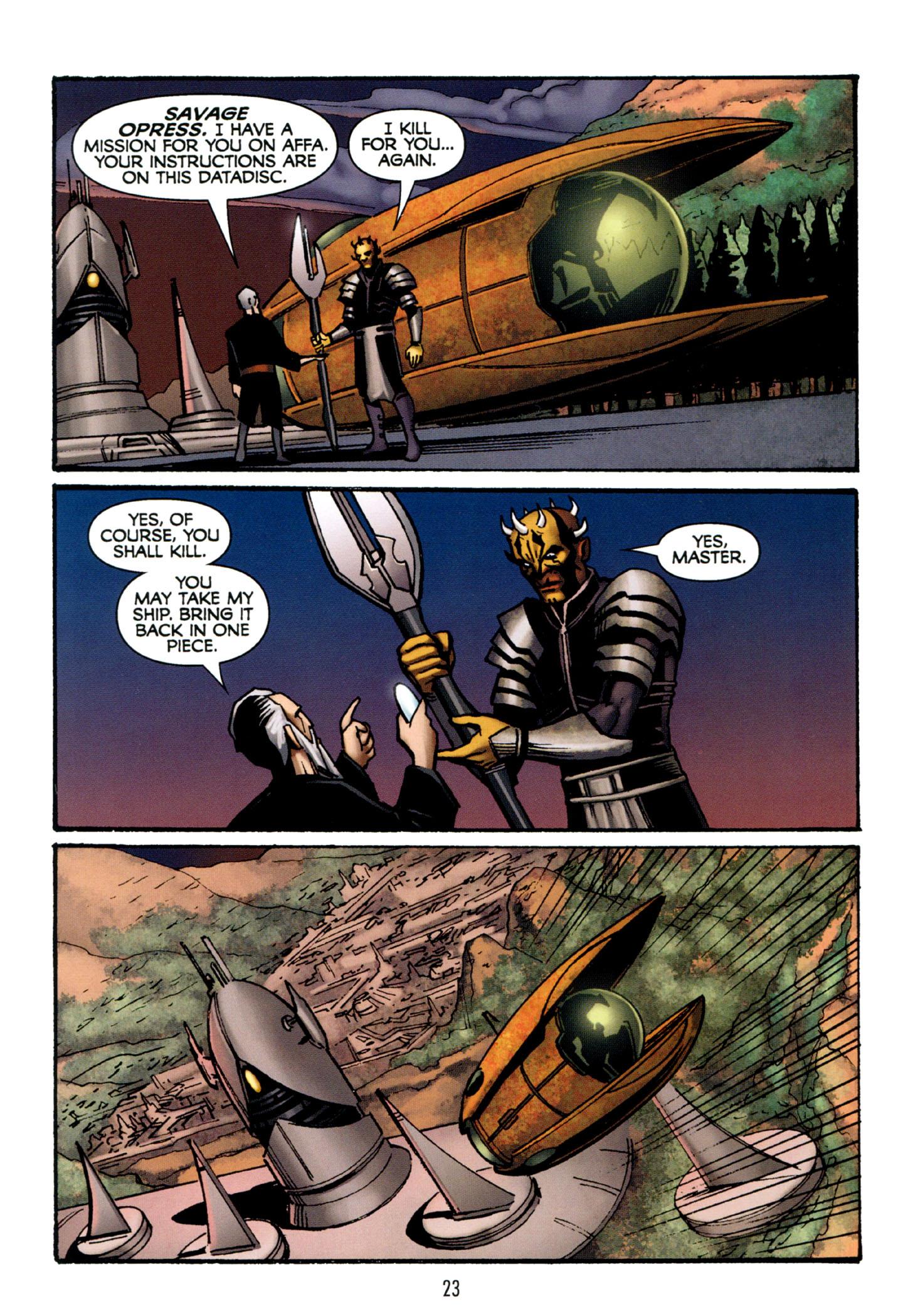 Read online Star Wars: The Clone Wars - Strange Allies comic -  Issue # Full - 24