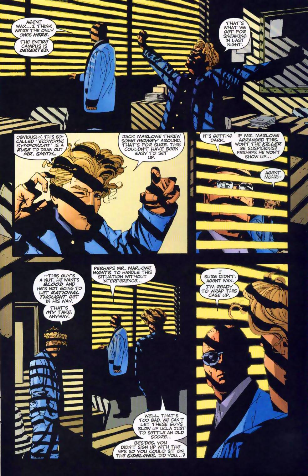 Wildcats (1999) Issue #19 #20 - English 4