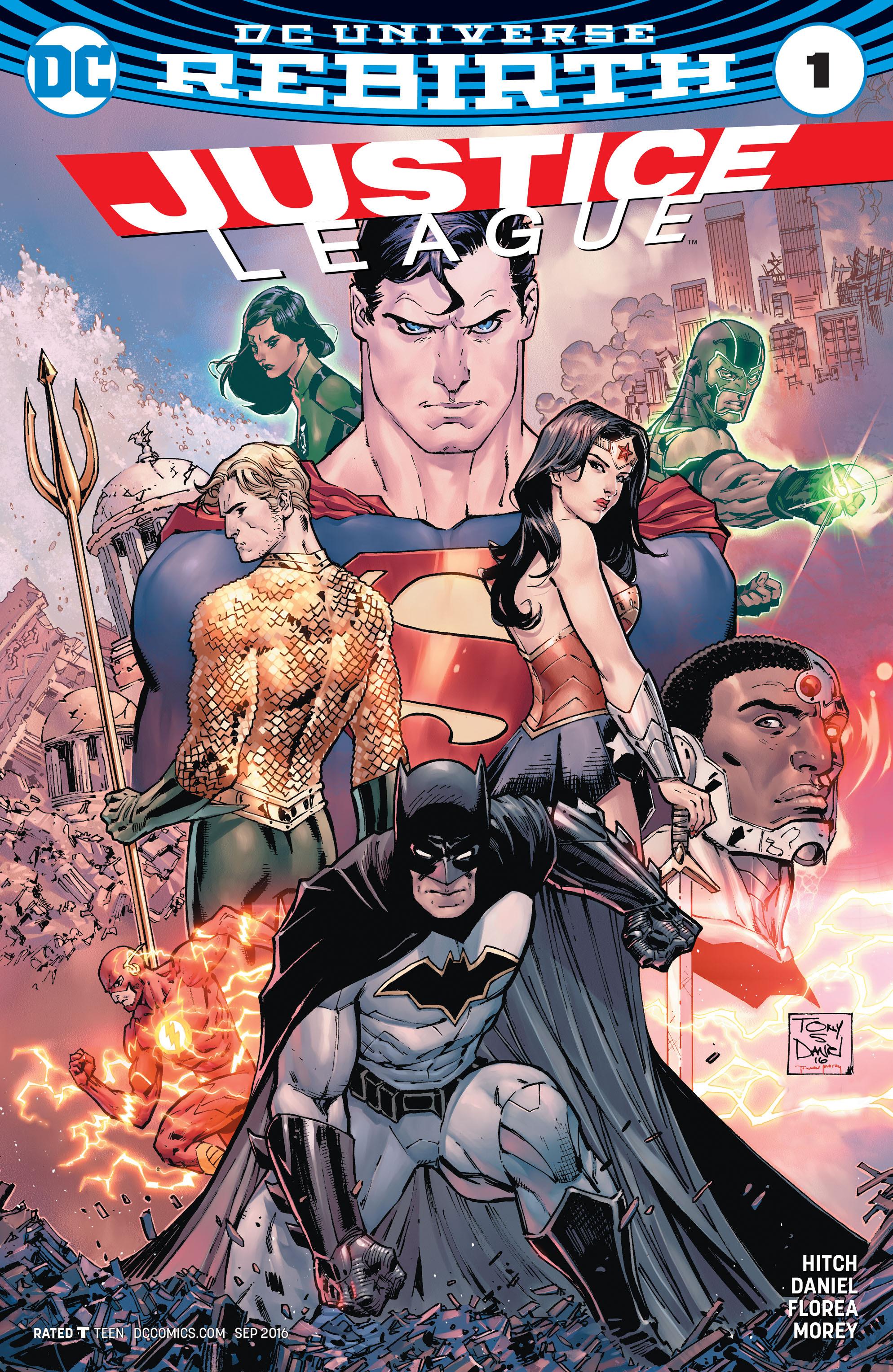 Justice League (2016) 1 Page 1