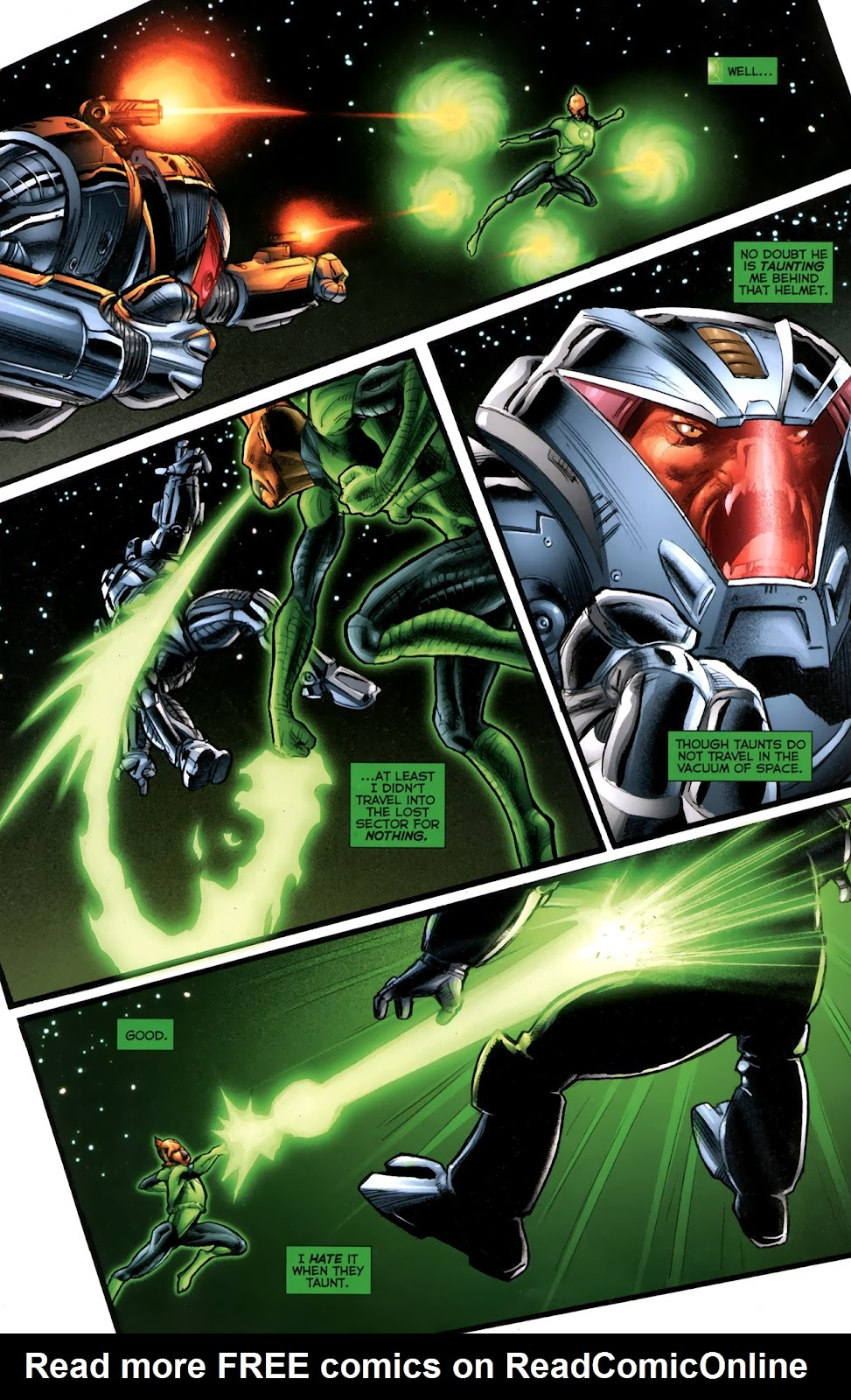 Read online Green Lantern Movie Prequel: Tomar-Re comic -  Issue # Full - 10