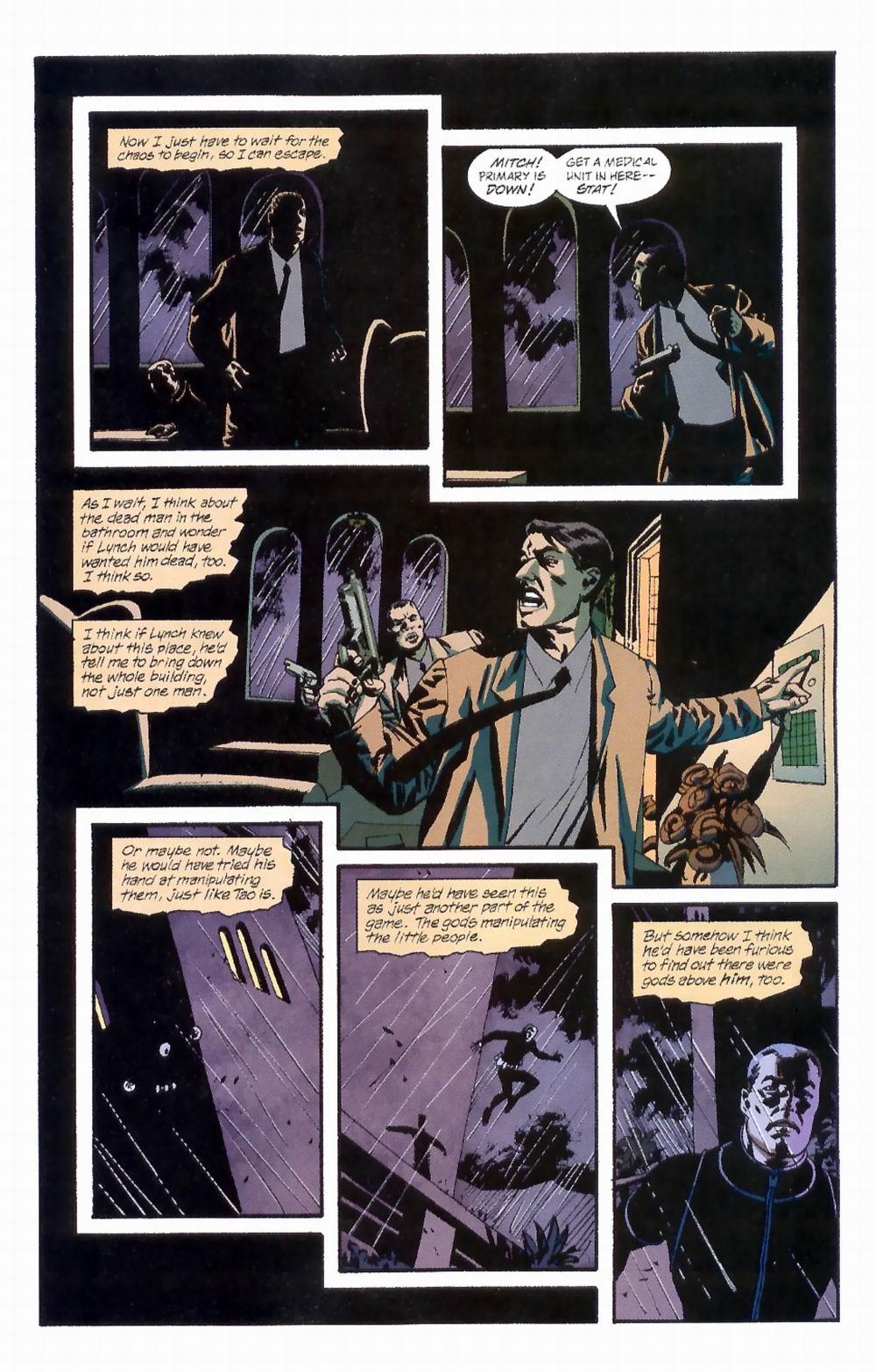 Read online Sleeper comic -  Issue #4 - 17