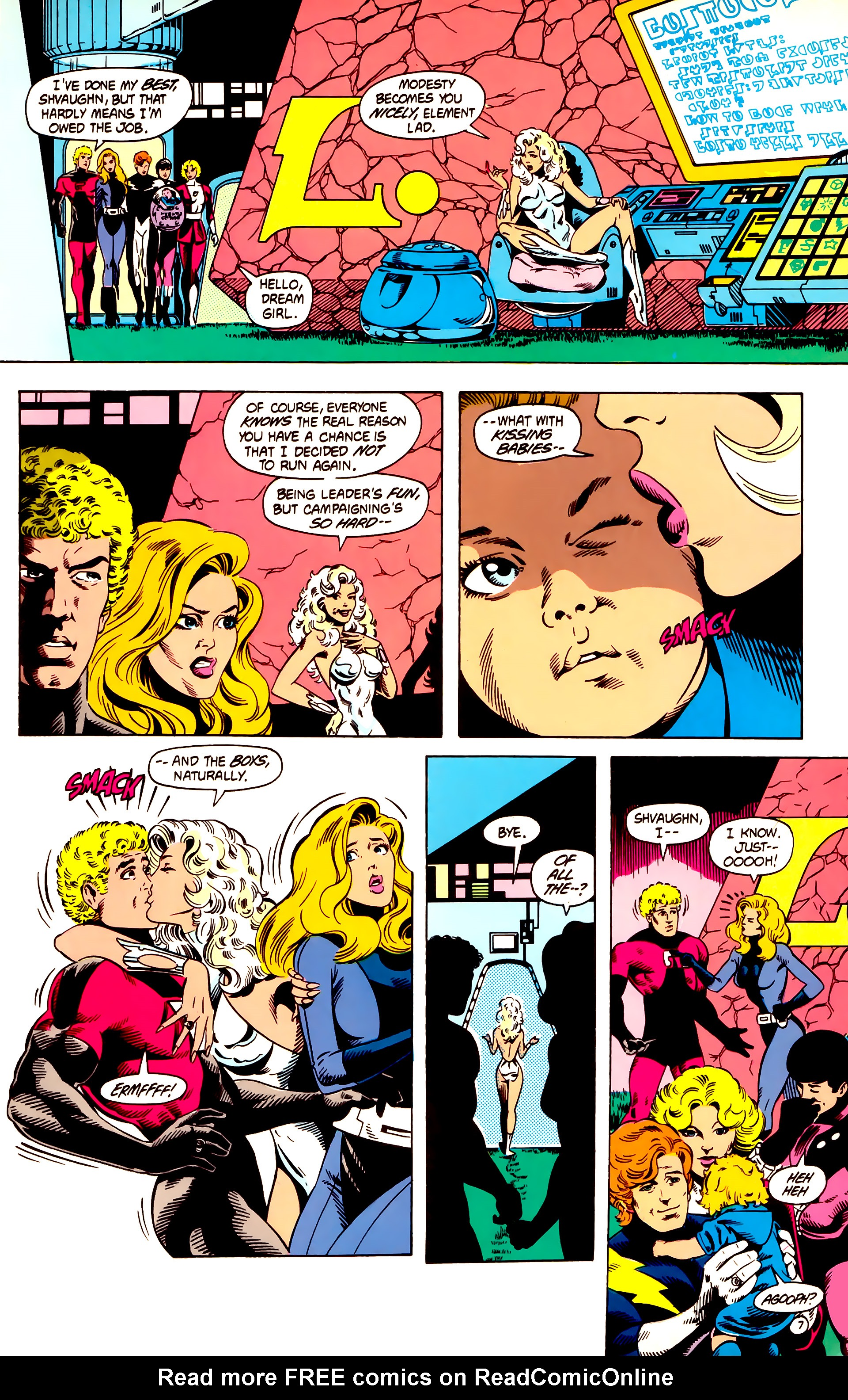 Legion of Super-Heroes (1984) 12 Page 7