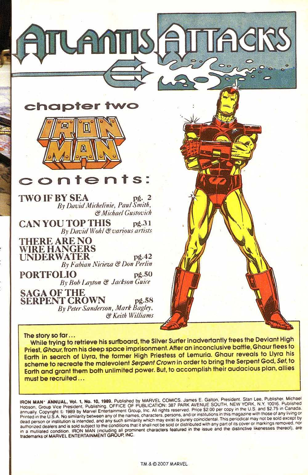 Iron Man Annual issue 10 - Page 3