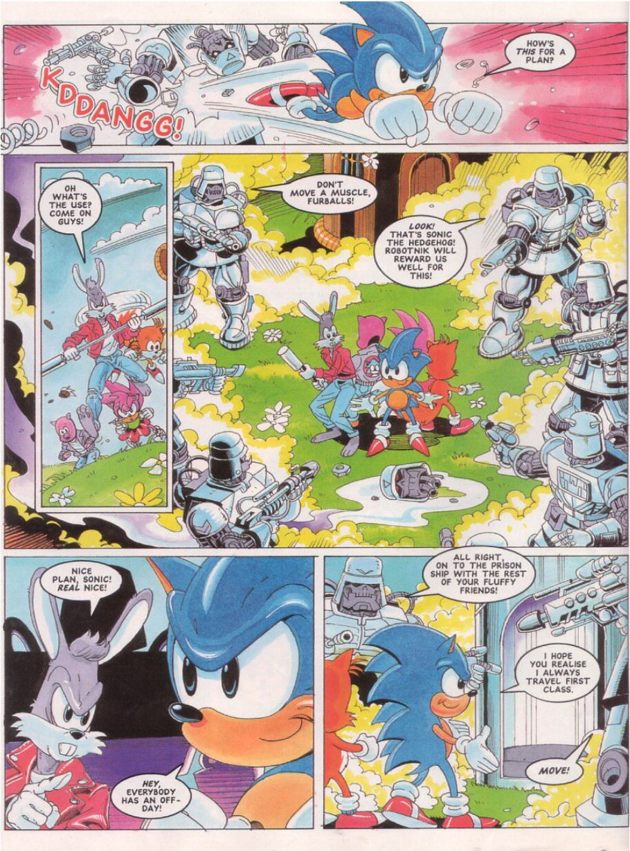 Read online Sonic the Comic comic -  Issue #24 - 6