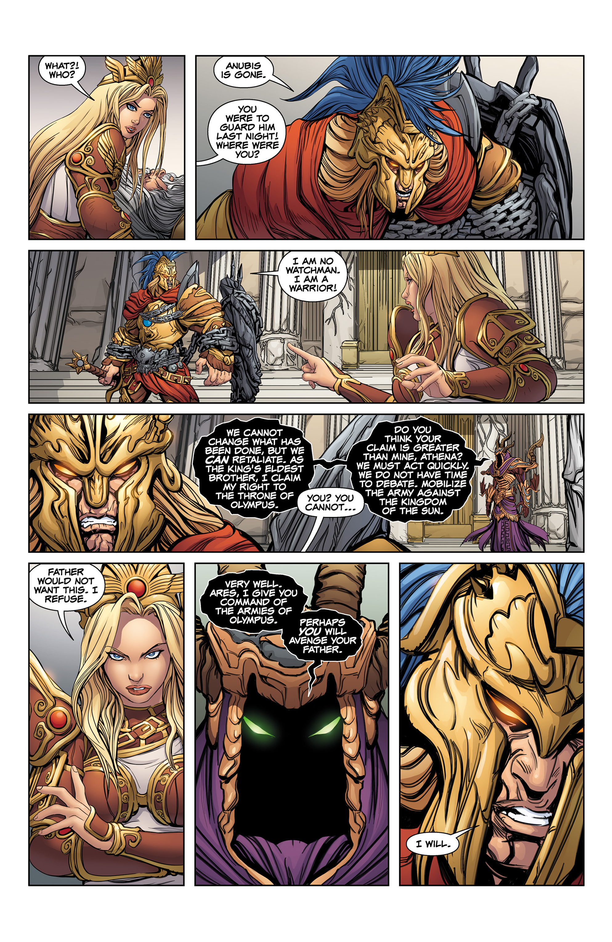 Read online SMITE: The Pantheon War comic -  Issue #1 - 19