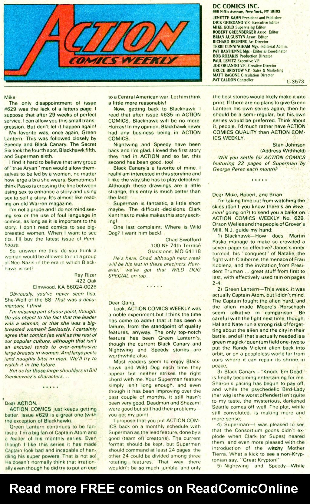 Action Comics (1938) 640 Page 23