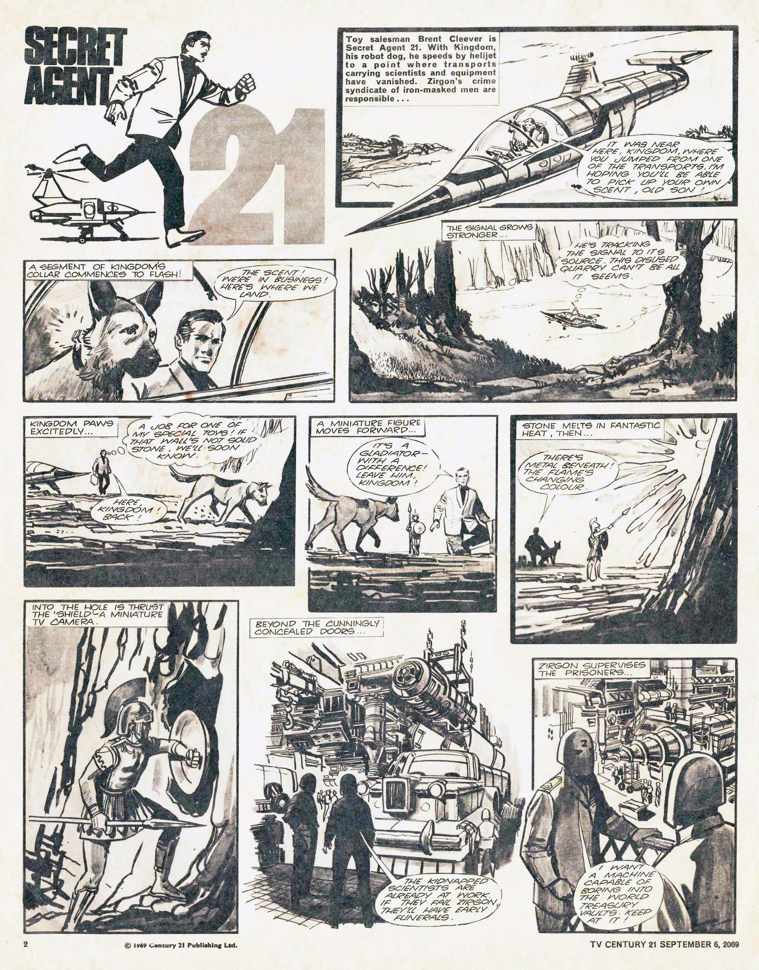 Read online TV Century 21 (TV 21) comic -  Issue #242 - 2