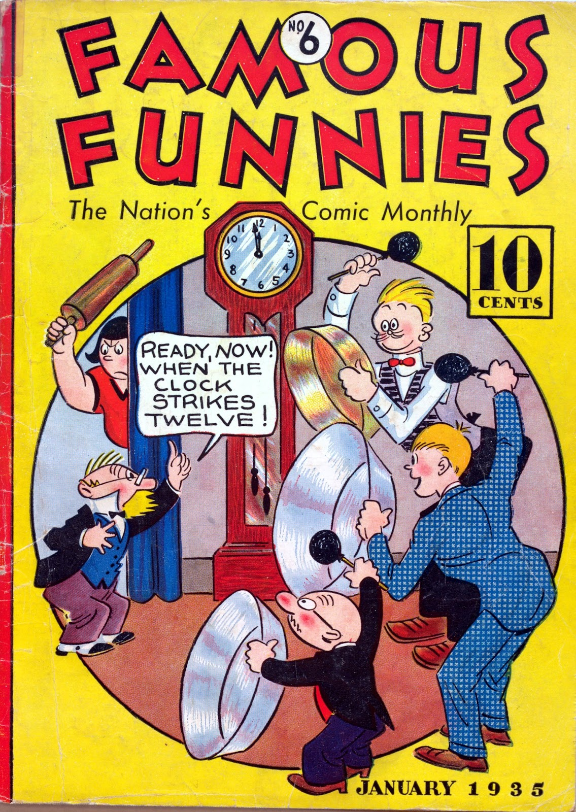 Read online Famous Funnies comic -  Issue #6 - 1