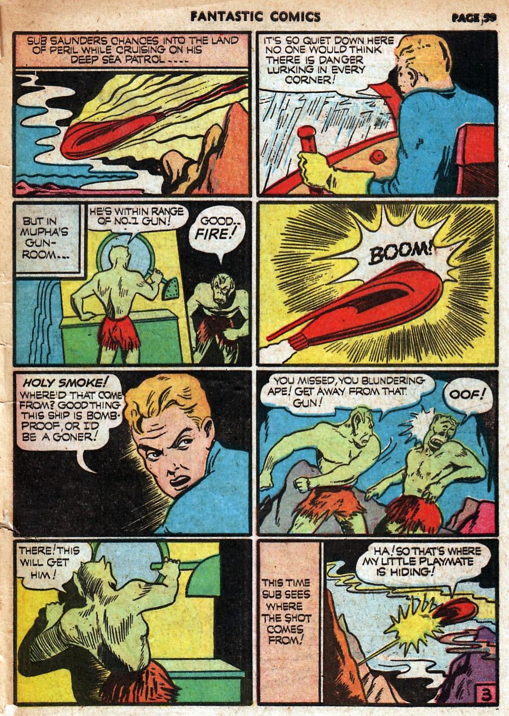 Read online Fantastic Comics comic -  Issue #18 - 61