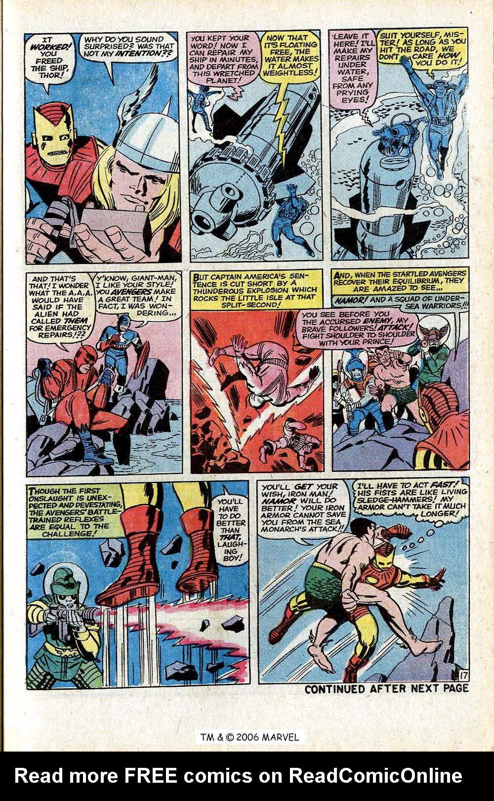 The Avengers (1963) _Annual_3 Page 20