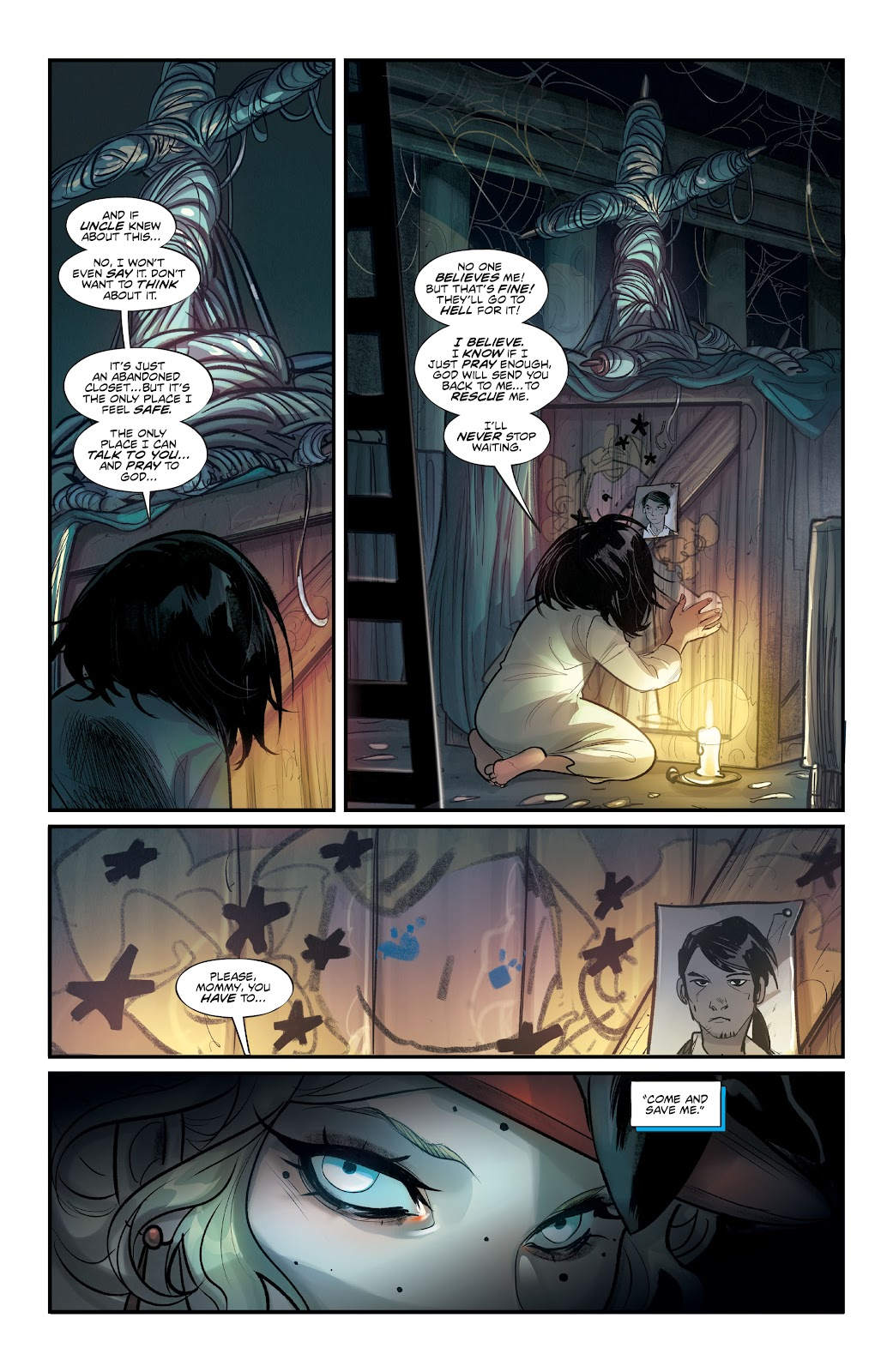 Read online Mirka Andolfo's Mercy comic -  Issue #1 - 18