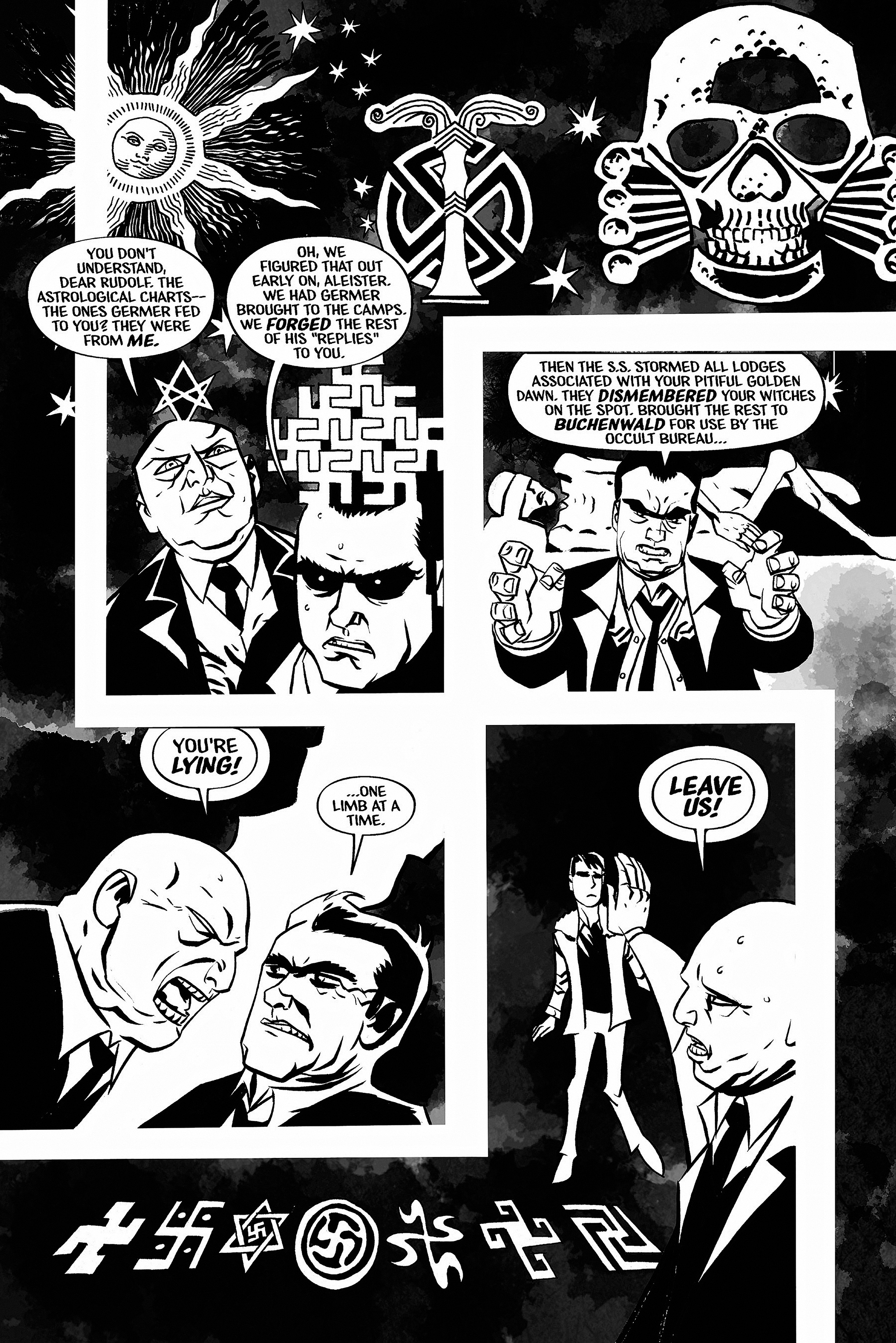 Read online Aleister & Adolf comic -  Issue # TPB - 42