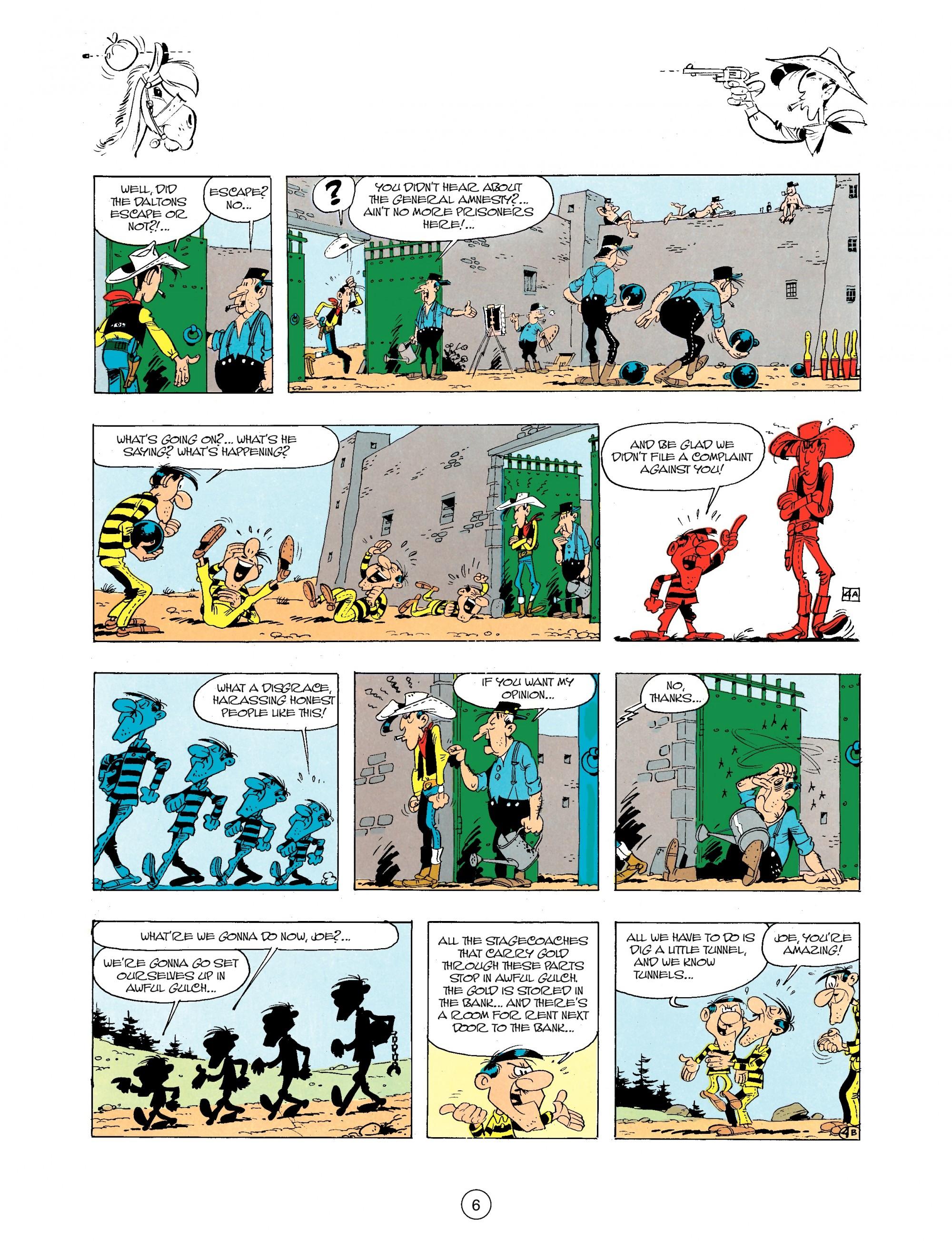 Read online A Lucky Luke Adventure comic -  Issue #34 - 6
