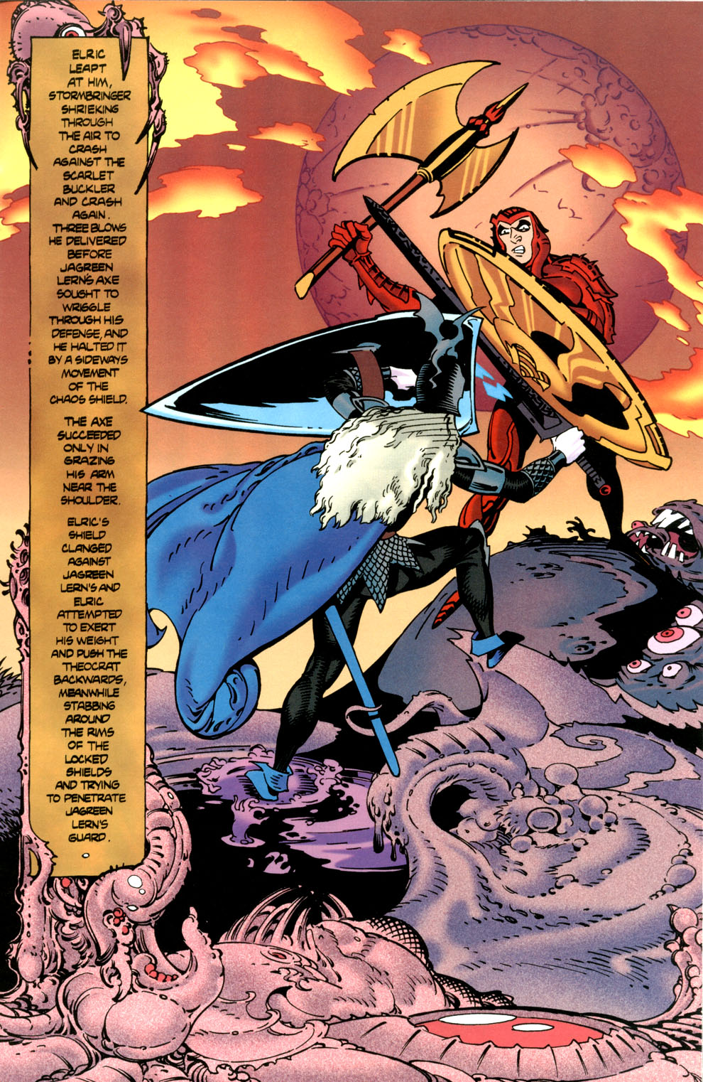 Read online Elric: Stormbringer comic -  Issue #7 - 15