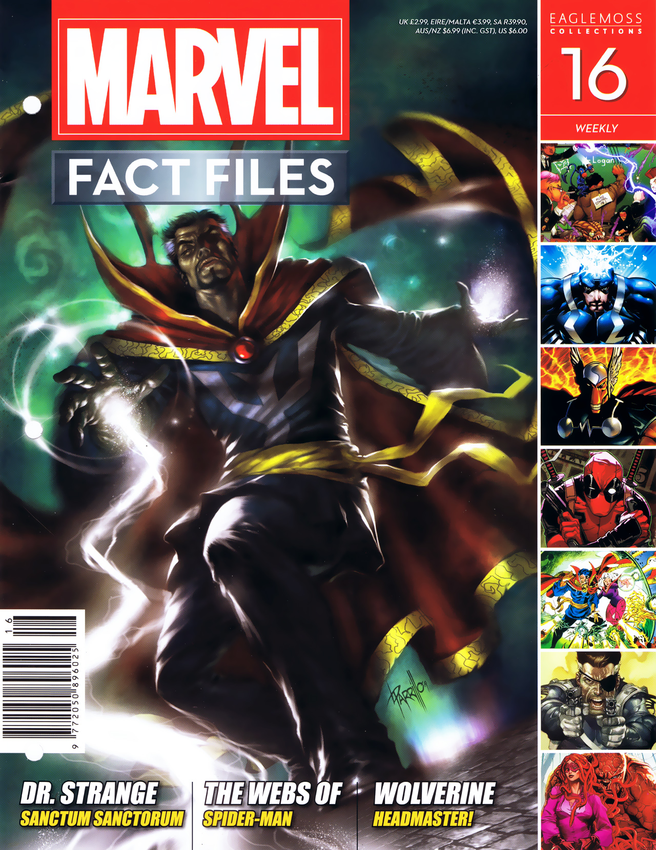 Marvel Fact Files 16 Page 1