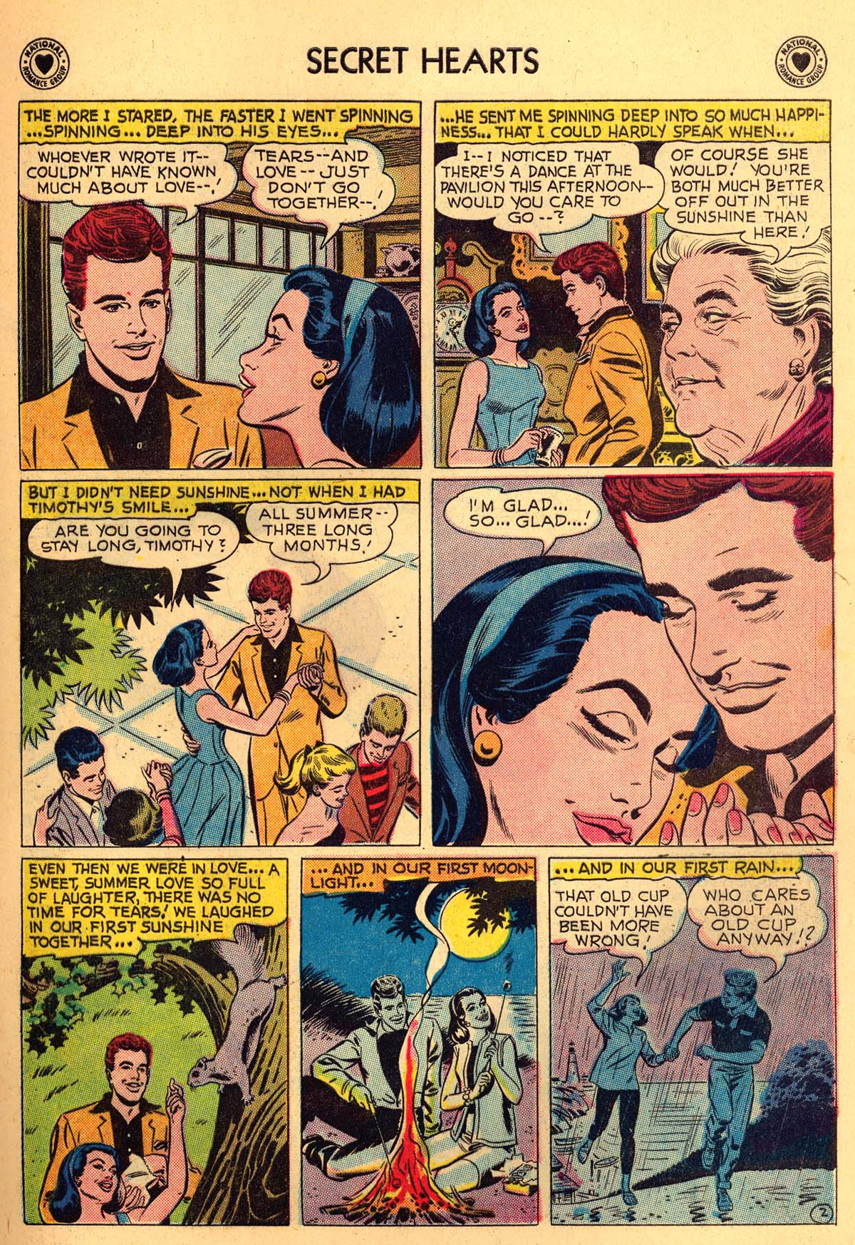 Read online Secret Hearts comic -  Issue #55 - 13
