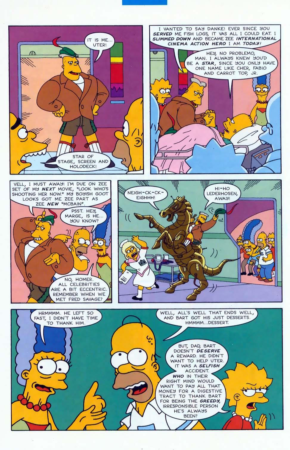 Read online Simpsons Comics comic -  Issue #47 - 21