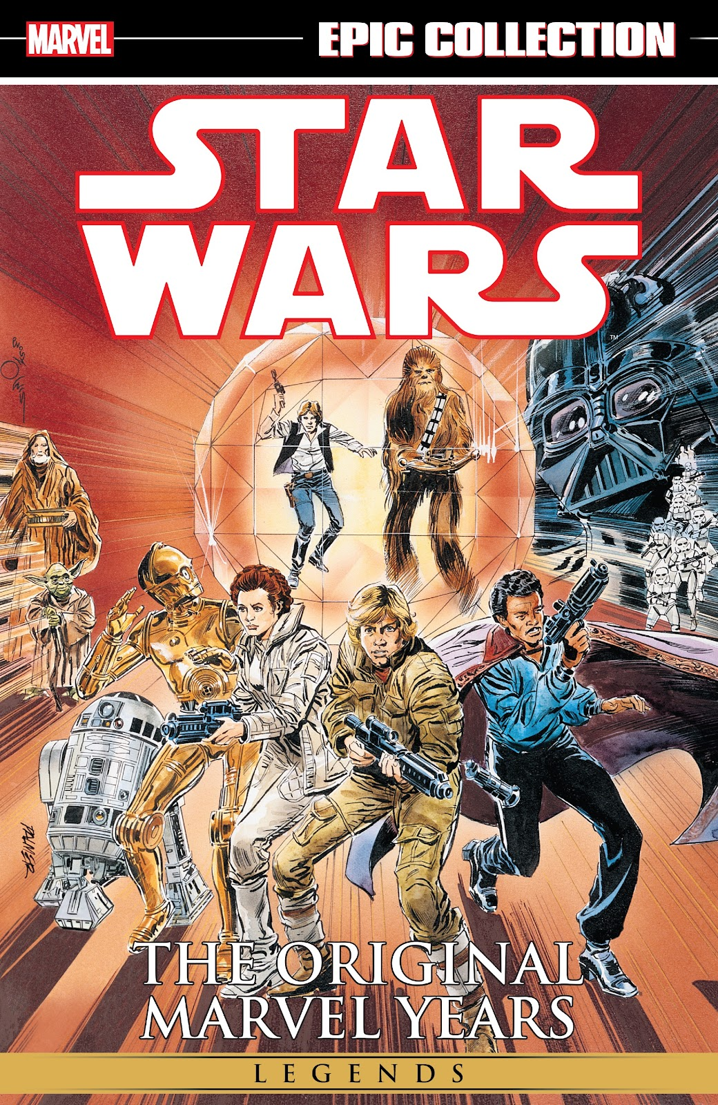 Read online Star Wars Legends: The Original Marvel Years - Epic Collection comic -  Issue # TPB 3 (Part 1) - 1