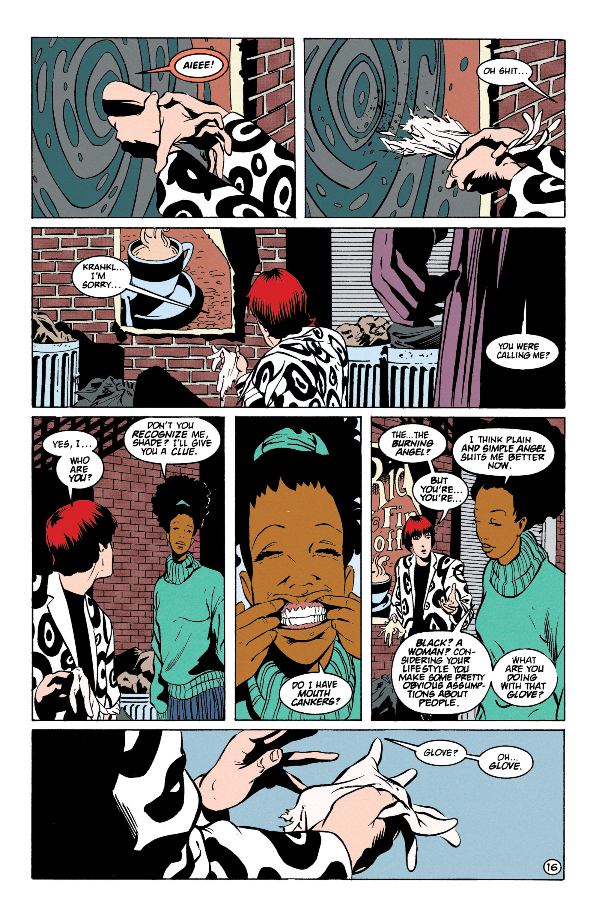 Read online Shade, the Changing Man comic -  Issue #59 - 17
