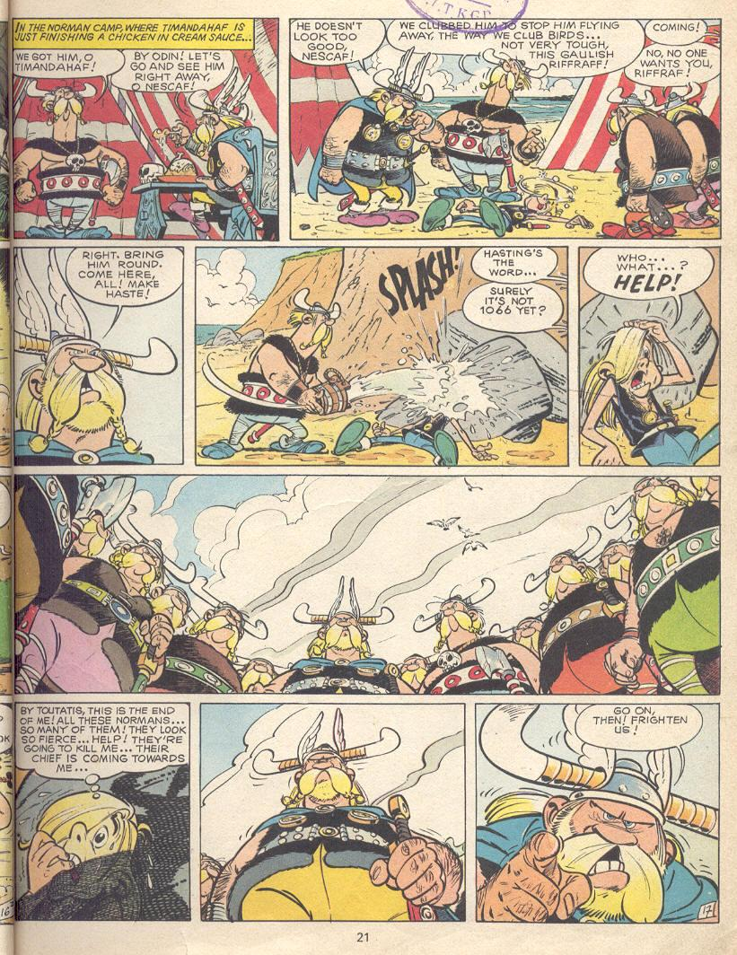 Read online Asterix comic -  Issue #9 - 18