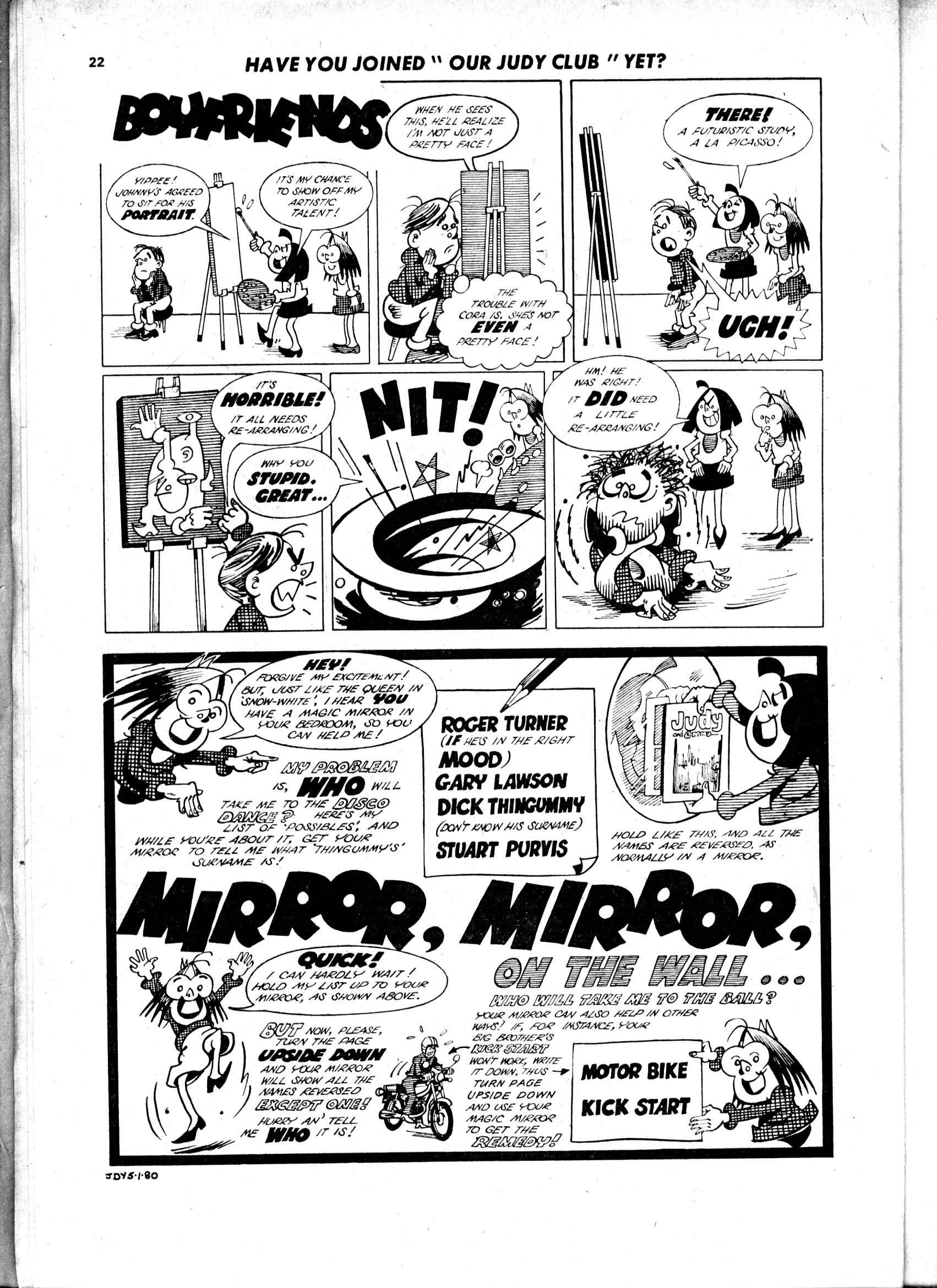 Read online Judy comic -  Issue #43 - 20