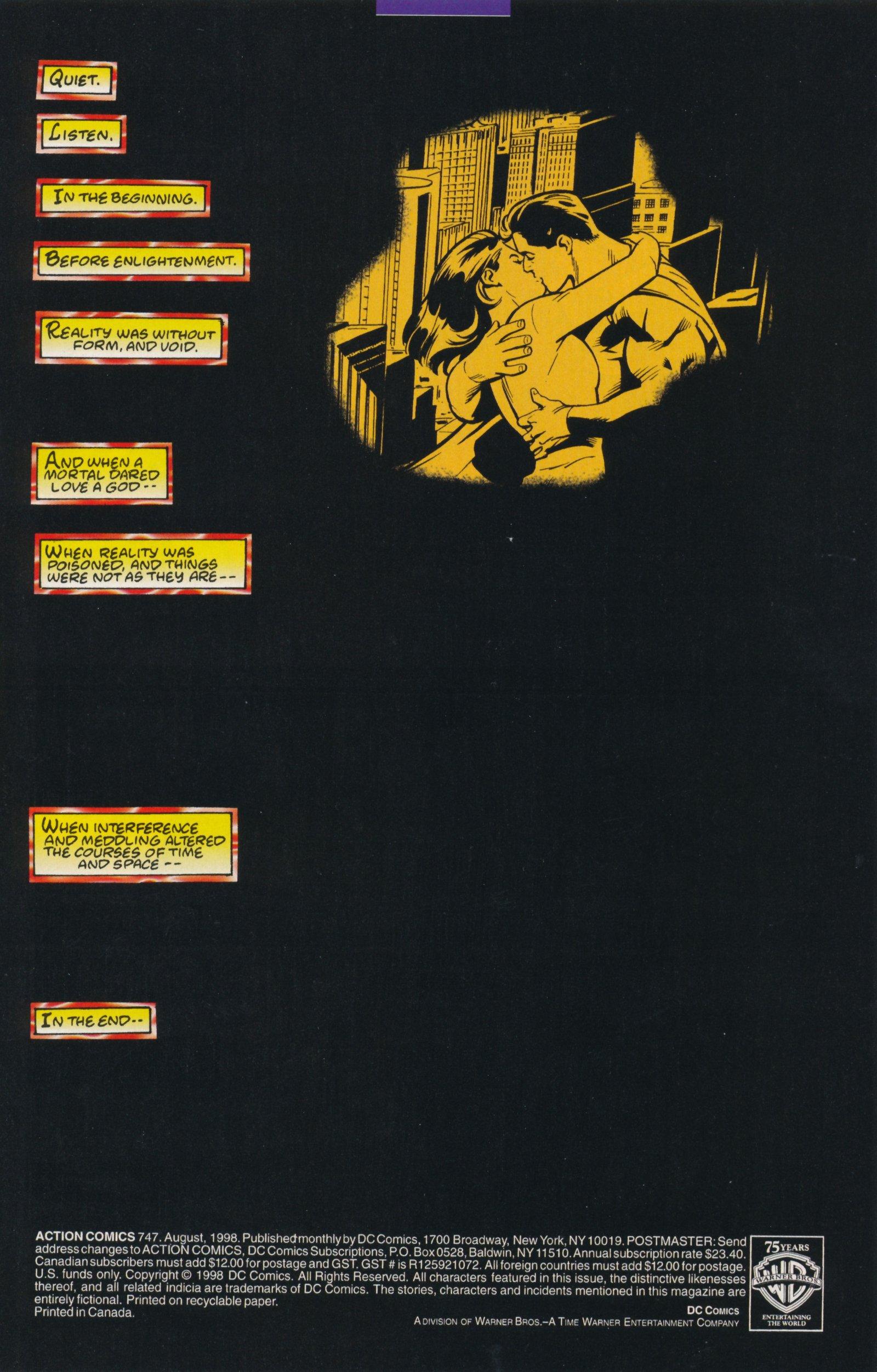 Action Comics (1938) 747 Page 2