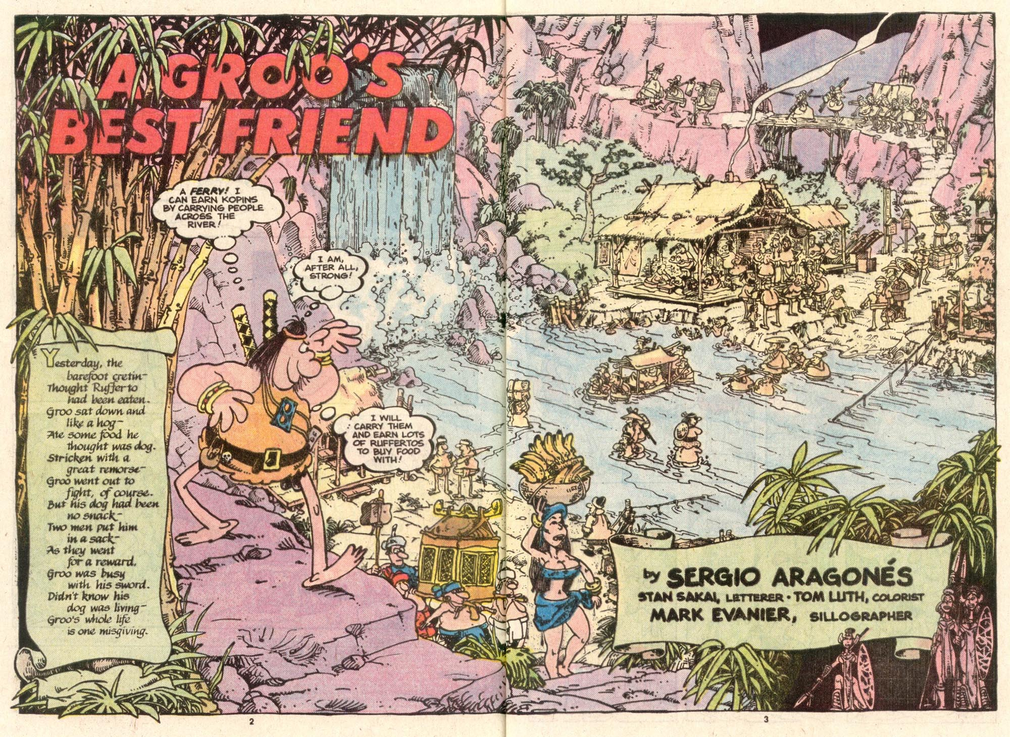 Read online Sergio Aragonés Groo the Wanderer comic -  Issue #39 - 3