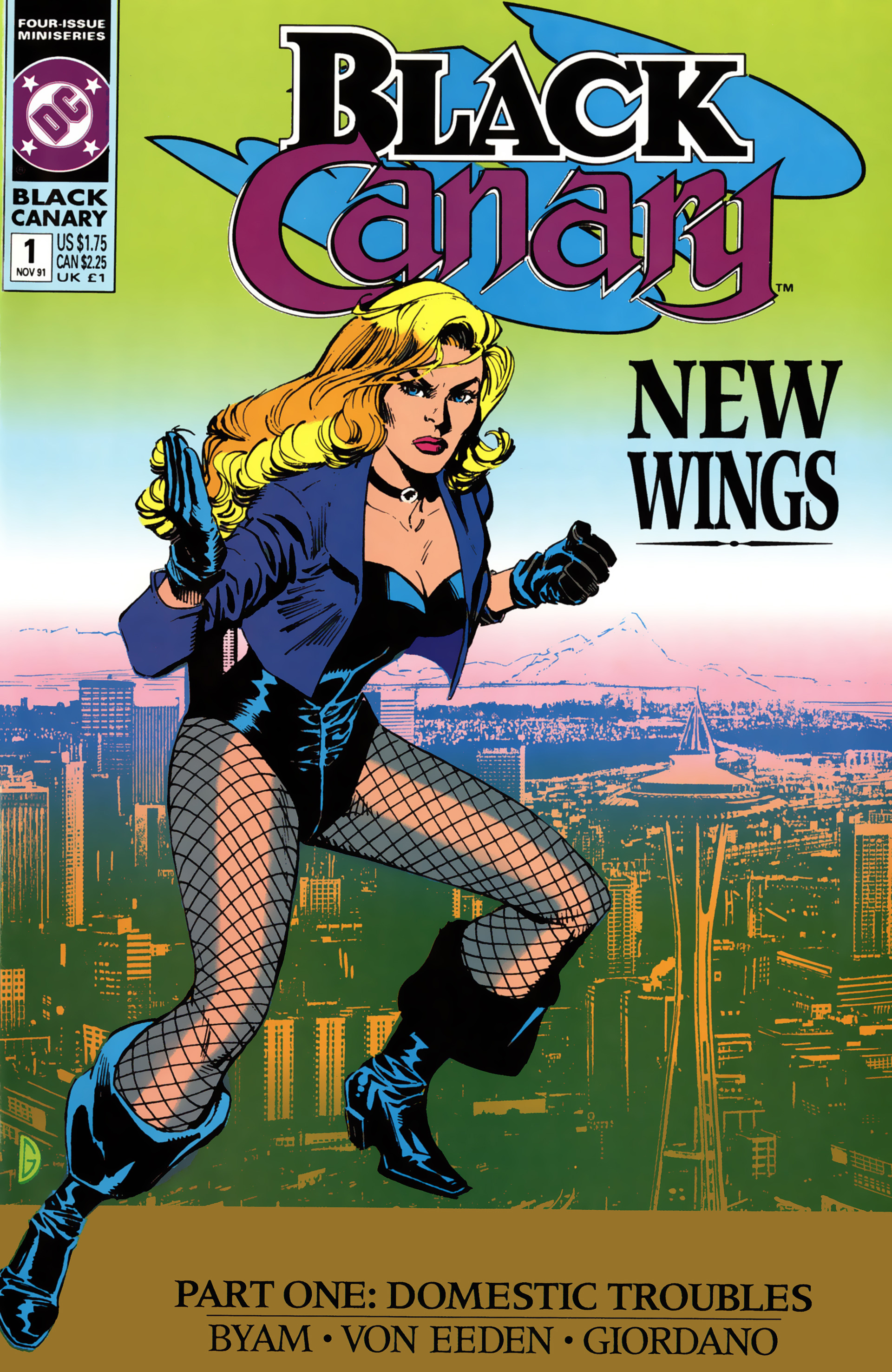 Black Canary (1991) 1 Page 1