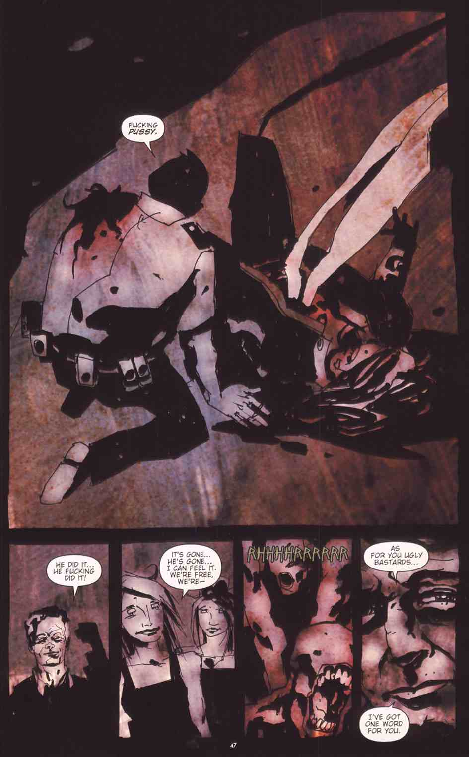 Read online Silent Hill: The Grinning Man comic -  Issue # Full - 48