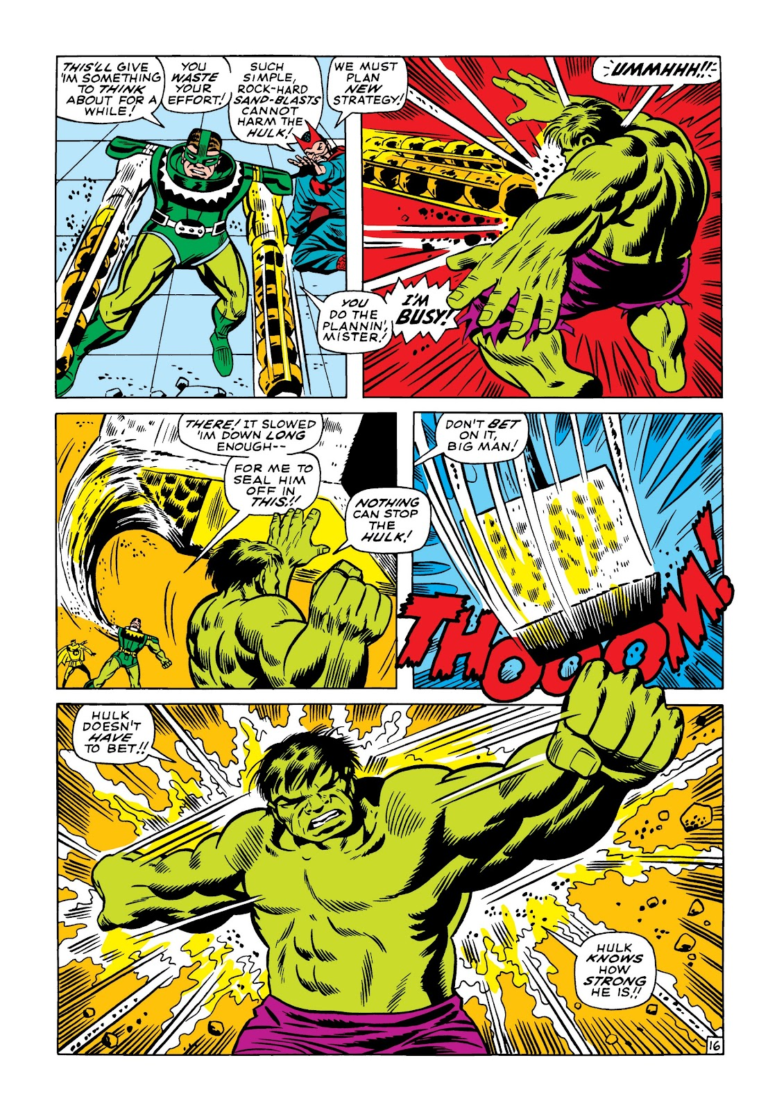 Read online Marvel Masterworks: The Incredible Hulk comic -  Issue # TPB 5 (Part 1) - 85
