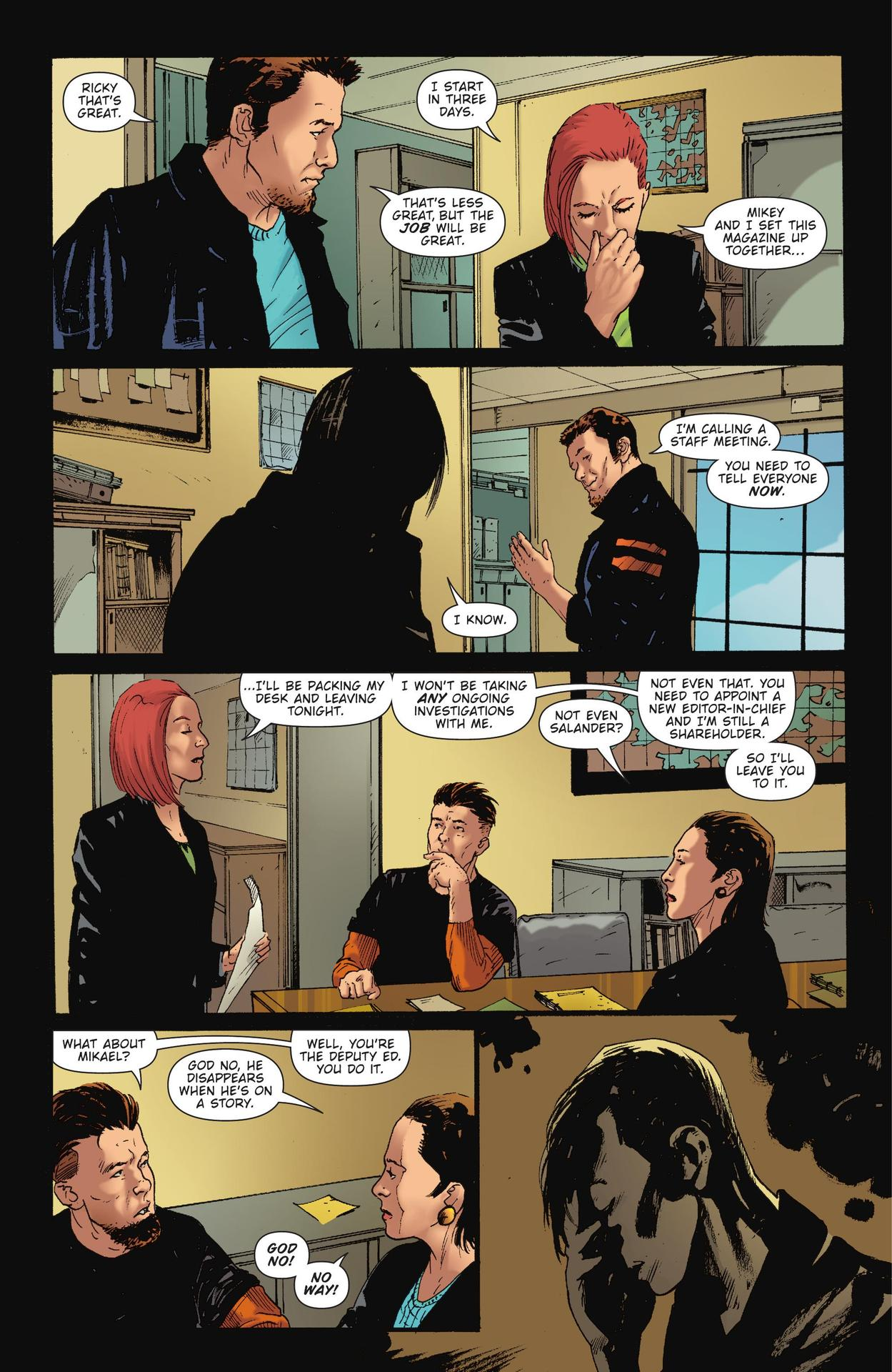 Read online The Girl Who Kicked The Hornet's Nest comic -  Issue # TPB - 30