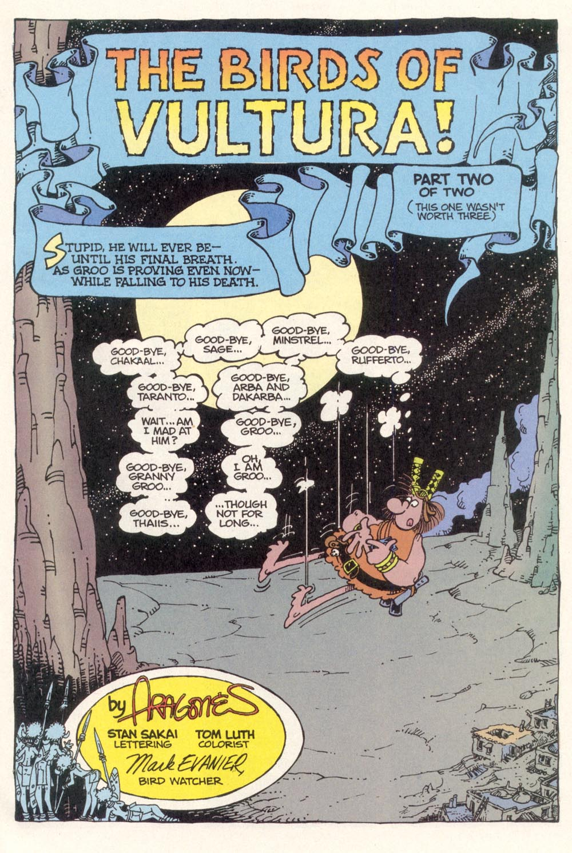 Read online Sergio Aragonés Groo the Wanderer comic -  Issue #115 - 3