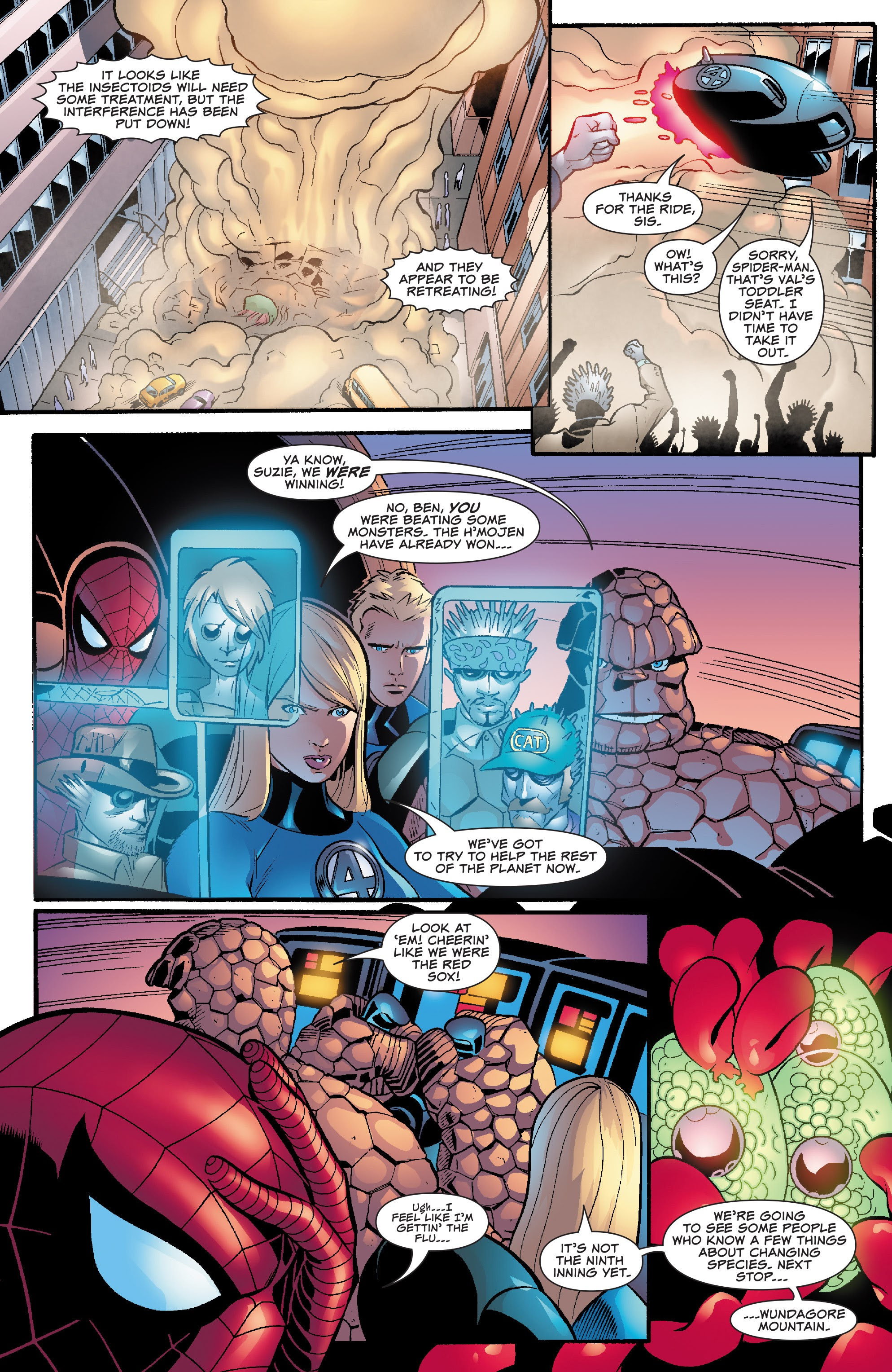Spider-Man and the Fantastic Four issue 3 - Page 12
