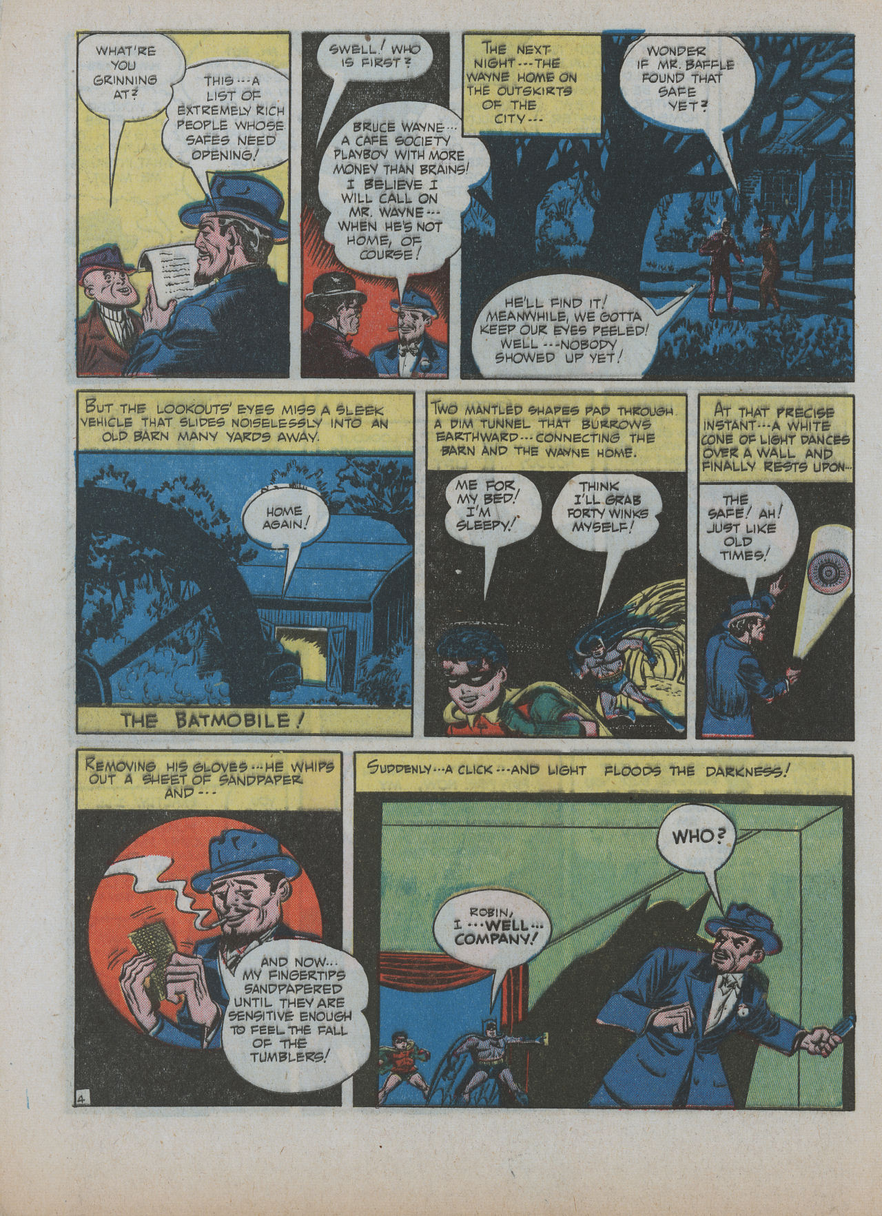 Read online Detective Comics (1937) comic -  Issue #63 - 6