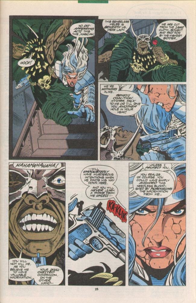 Read online Silver Sable and the Wild Pack comic -  Issue #10 - 20