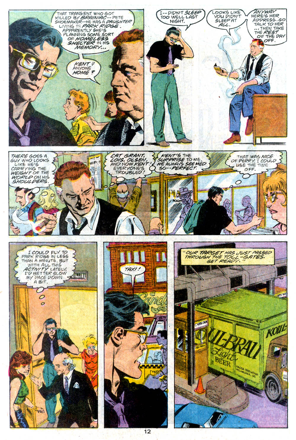 Read online Adventures of Superman (1987) comic -  Issue #446 - 13