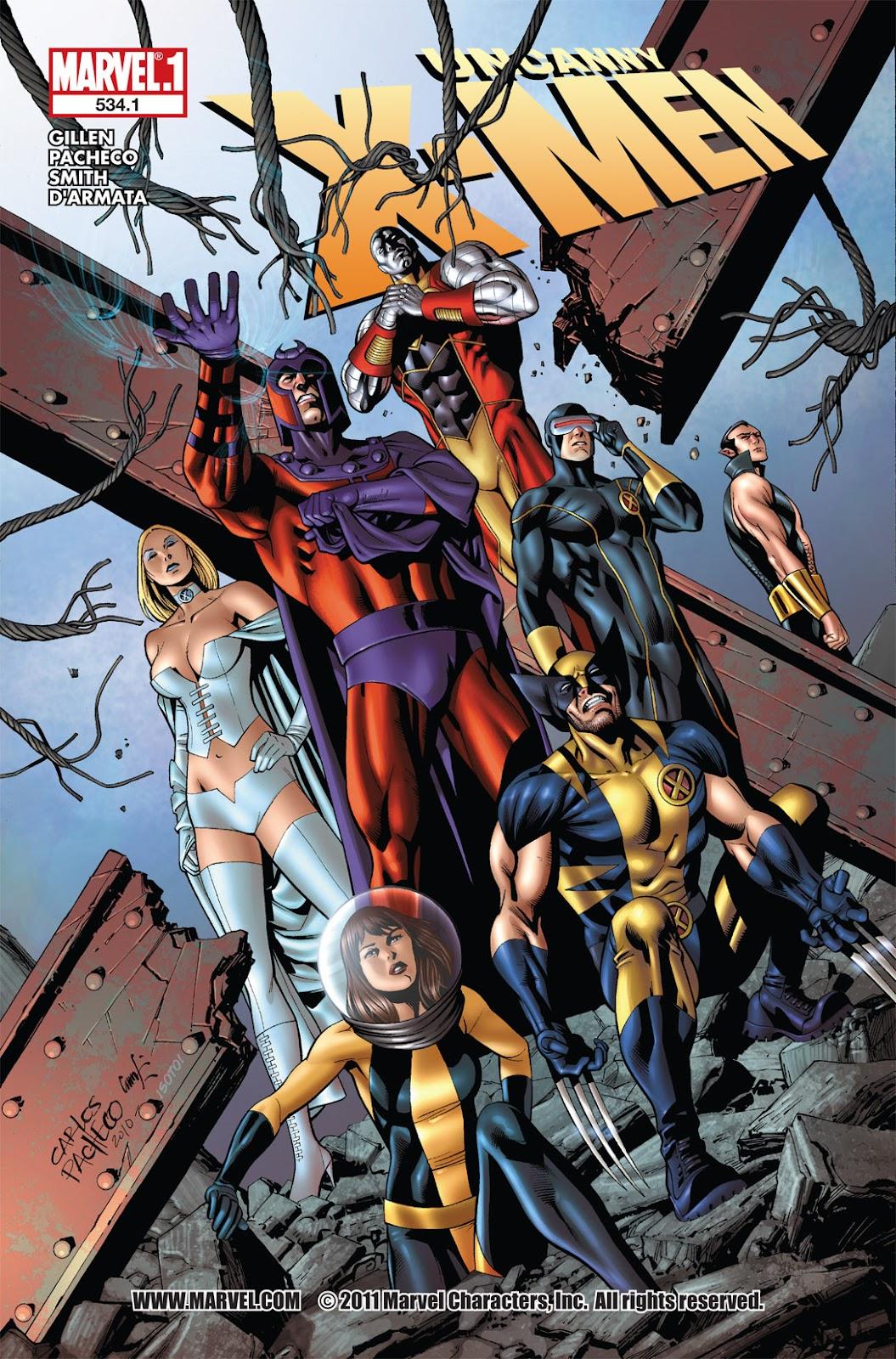 Uncanny X-Men (1963) issue 534.1 - Page 1