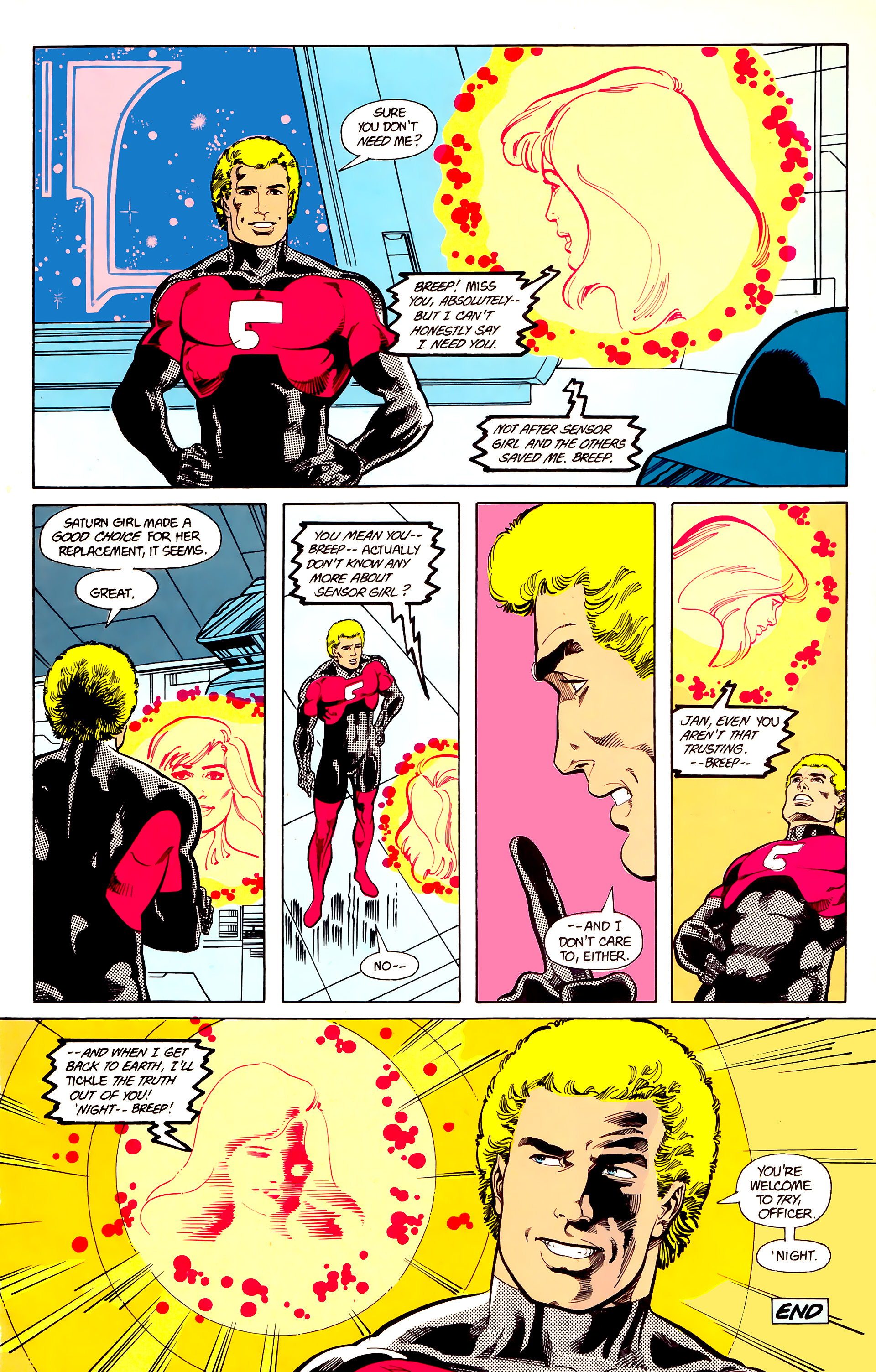 Legion of Super-Heroes (1984) 21 Page 24