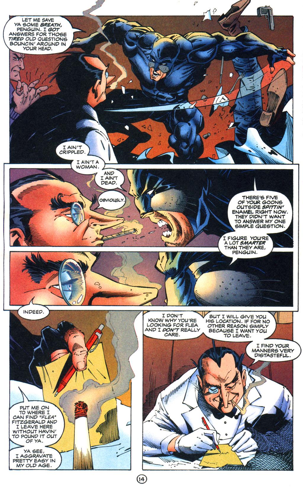 Read online Batman/Wildcat comic -  Issue #1 - 14