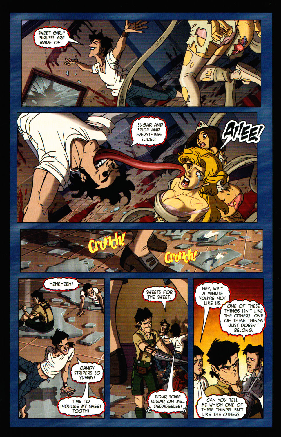 Read online Army of Darkness vs. Re-Animator comic -  Issue #3 - 24