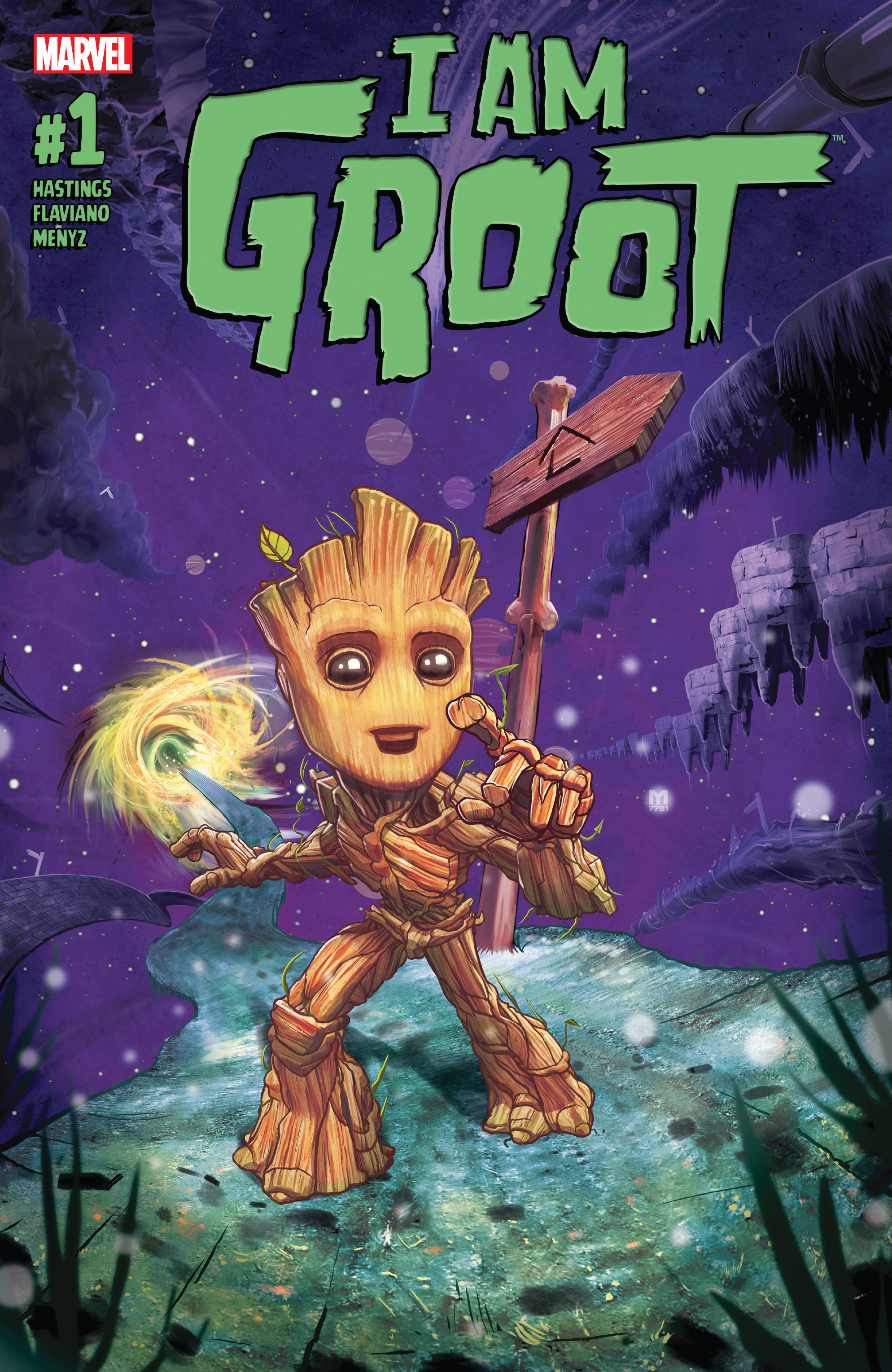 Read online I Am Groot comic -  Issue #1 - 1