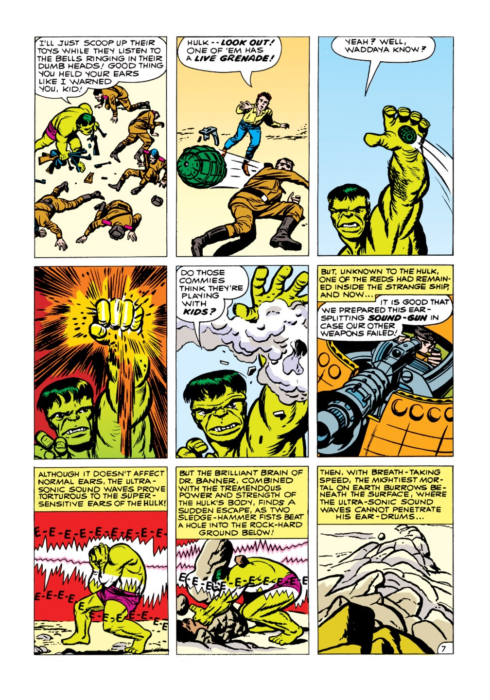 Read online Marvel Masterworks: The Incredible Hulk comic -  Issue # TPB 1 (Part 1) - 99