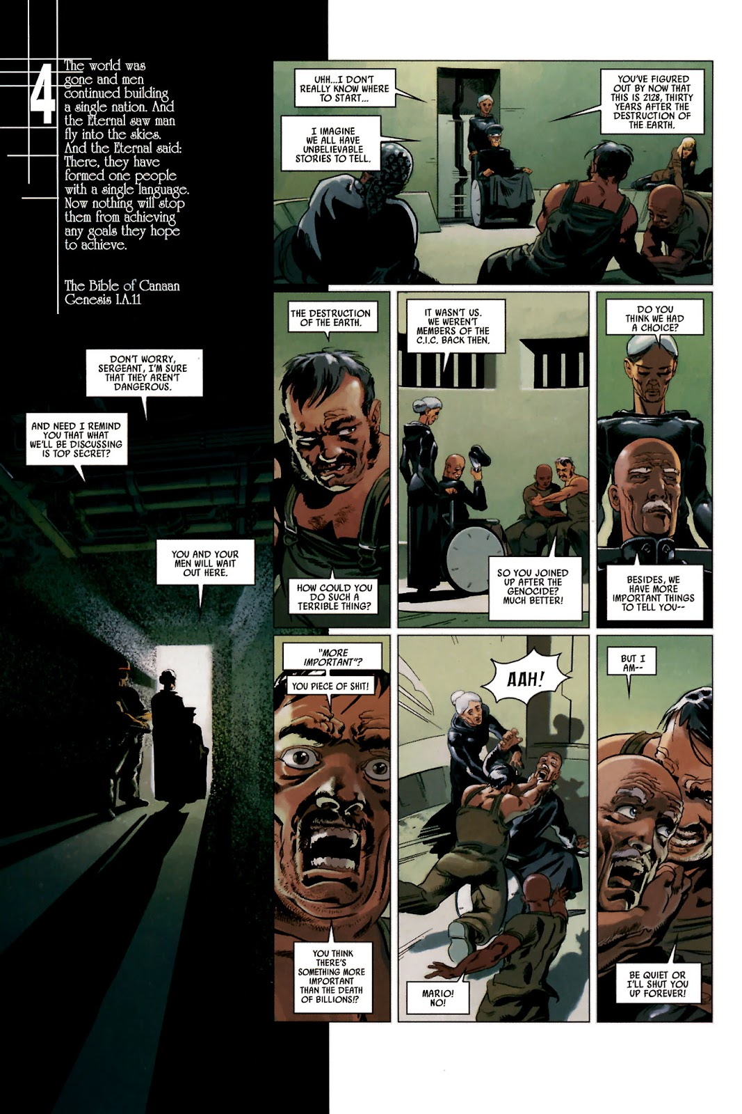 Read online Universal War One: Revelations comic -  Issue #2 - 28