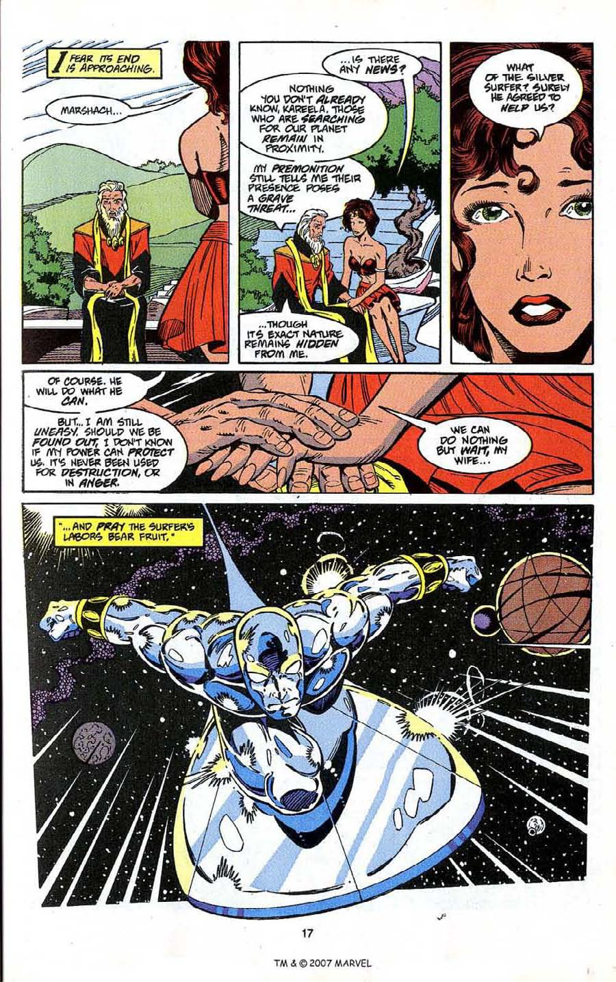 Read online Silver Surfer (1987) comic -  Issue # _Annual 4 - 19