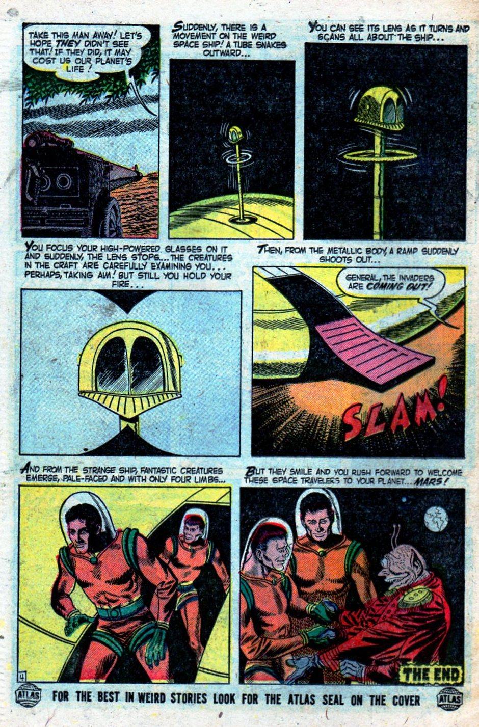 Read online Adventures into Weird Worlds comic -  Issue #27 - 27