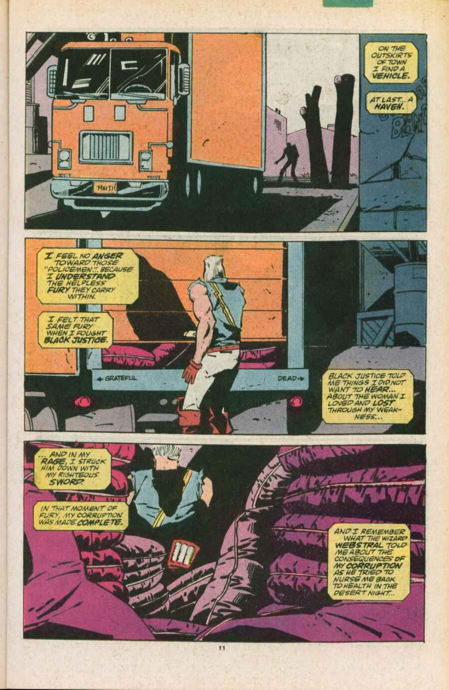 Read online Justice (1986) comic -  Issue #11 - 12